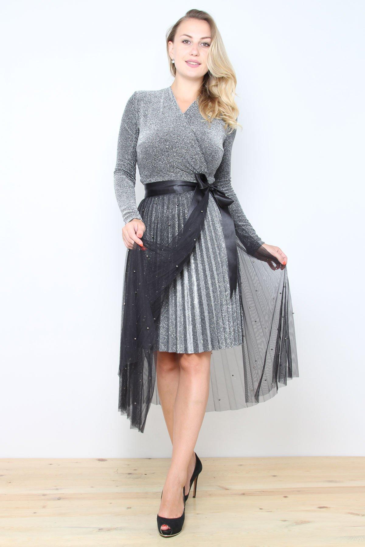 Day Dresses Medium-Light Grey