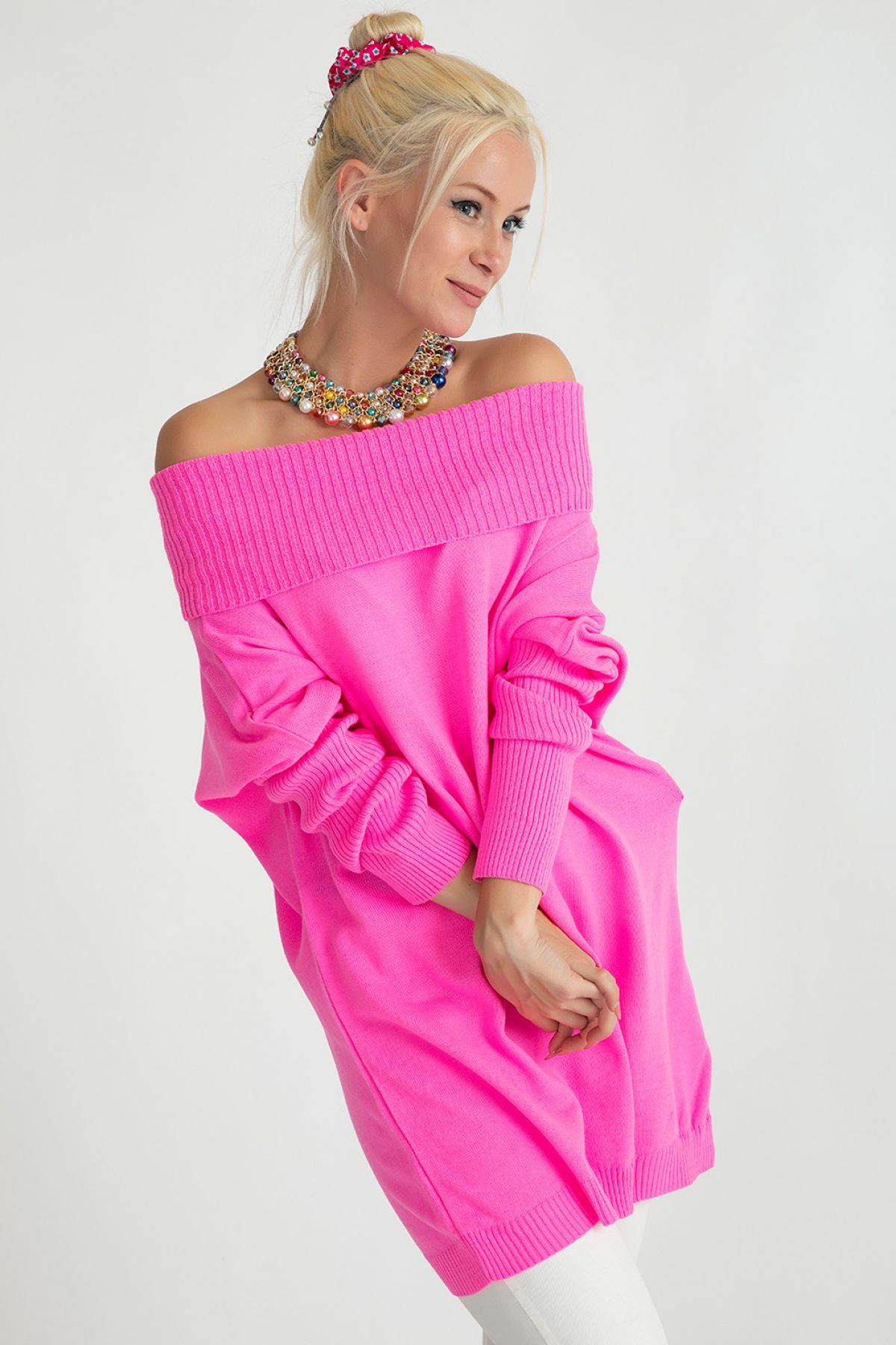 Sweaters-Pink