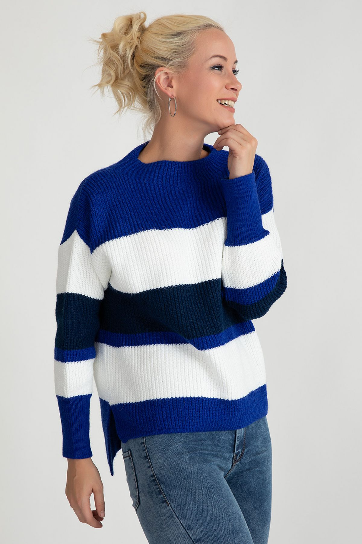 Sweaters-Bright Blue