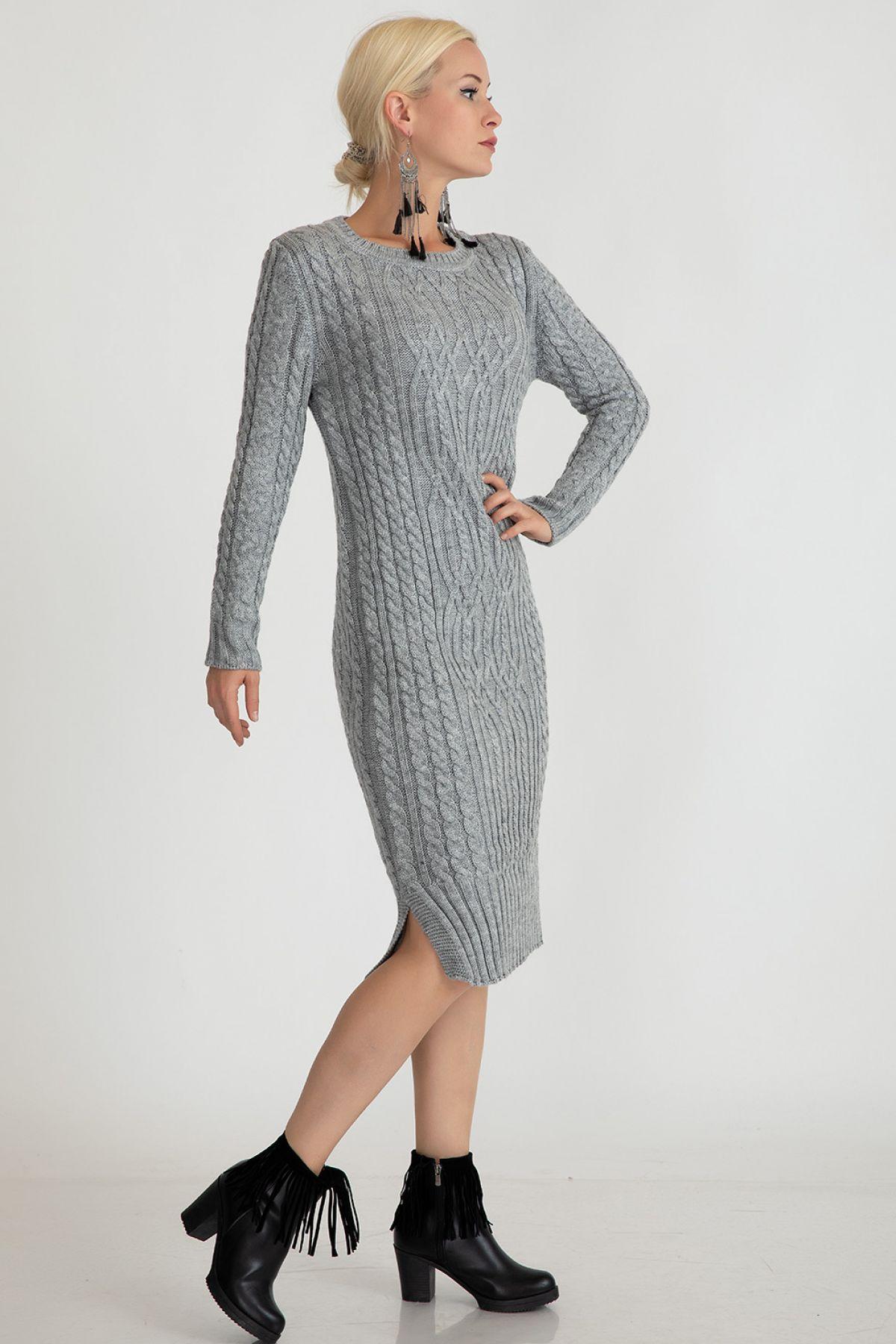 Dresses-Light Grey