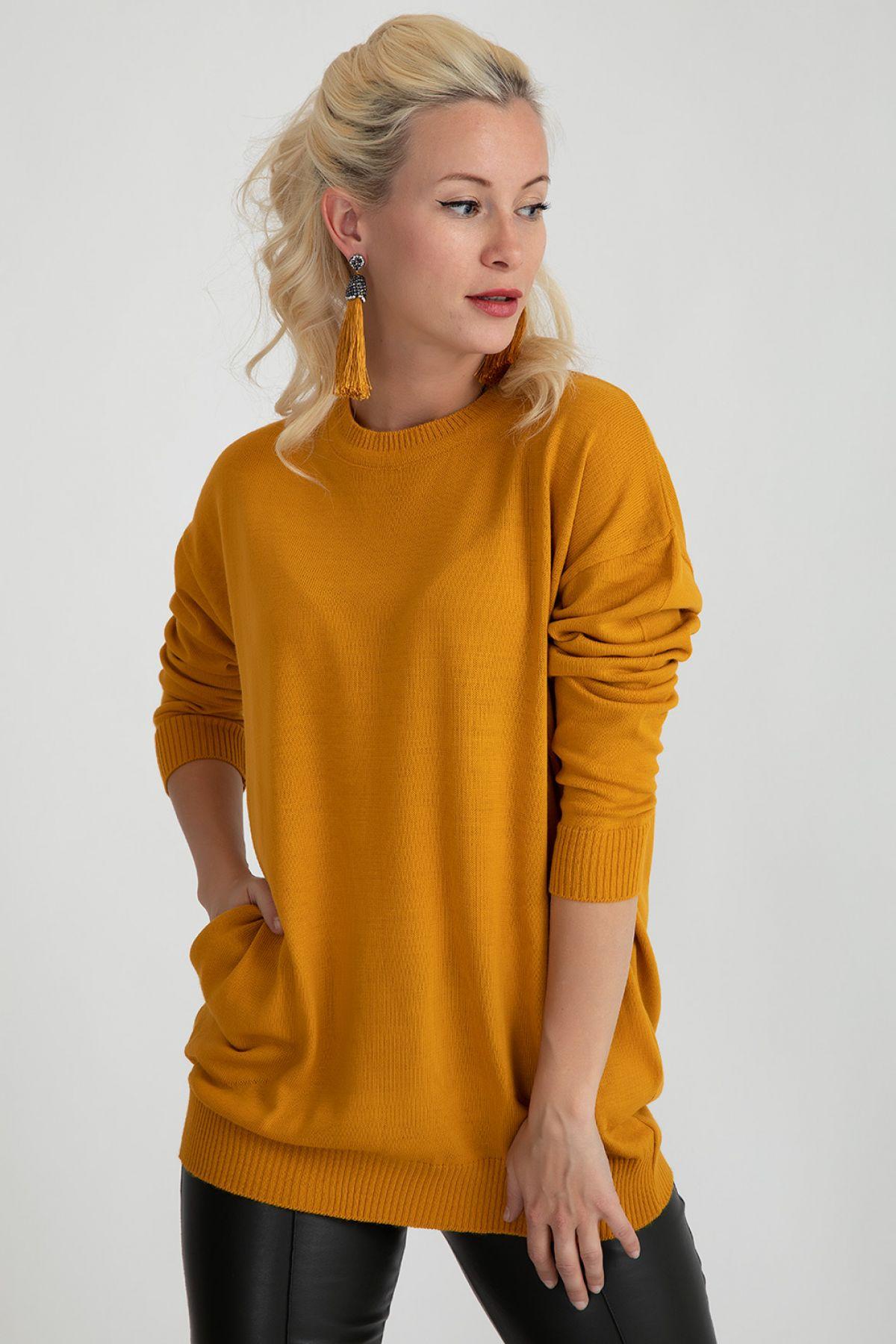 Sweaters-Mustard