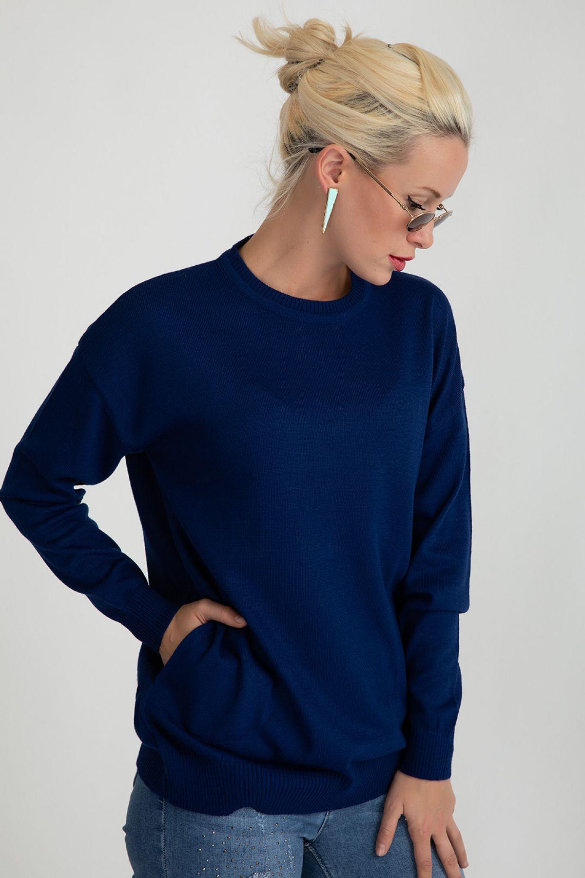 Sweaters-Dark Blue