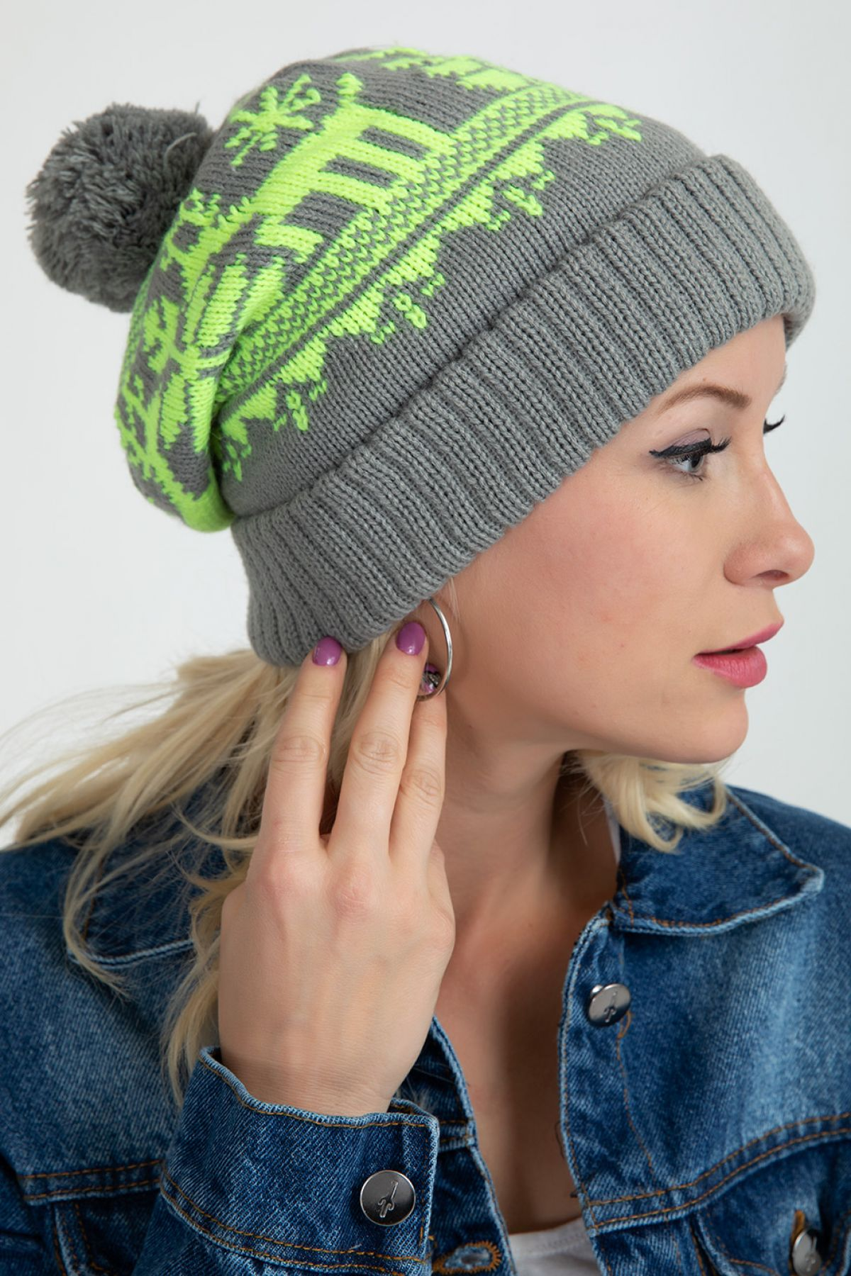 Beanie-Light Grey