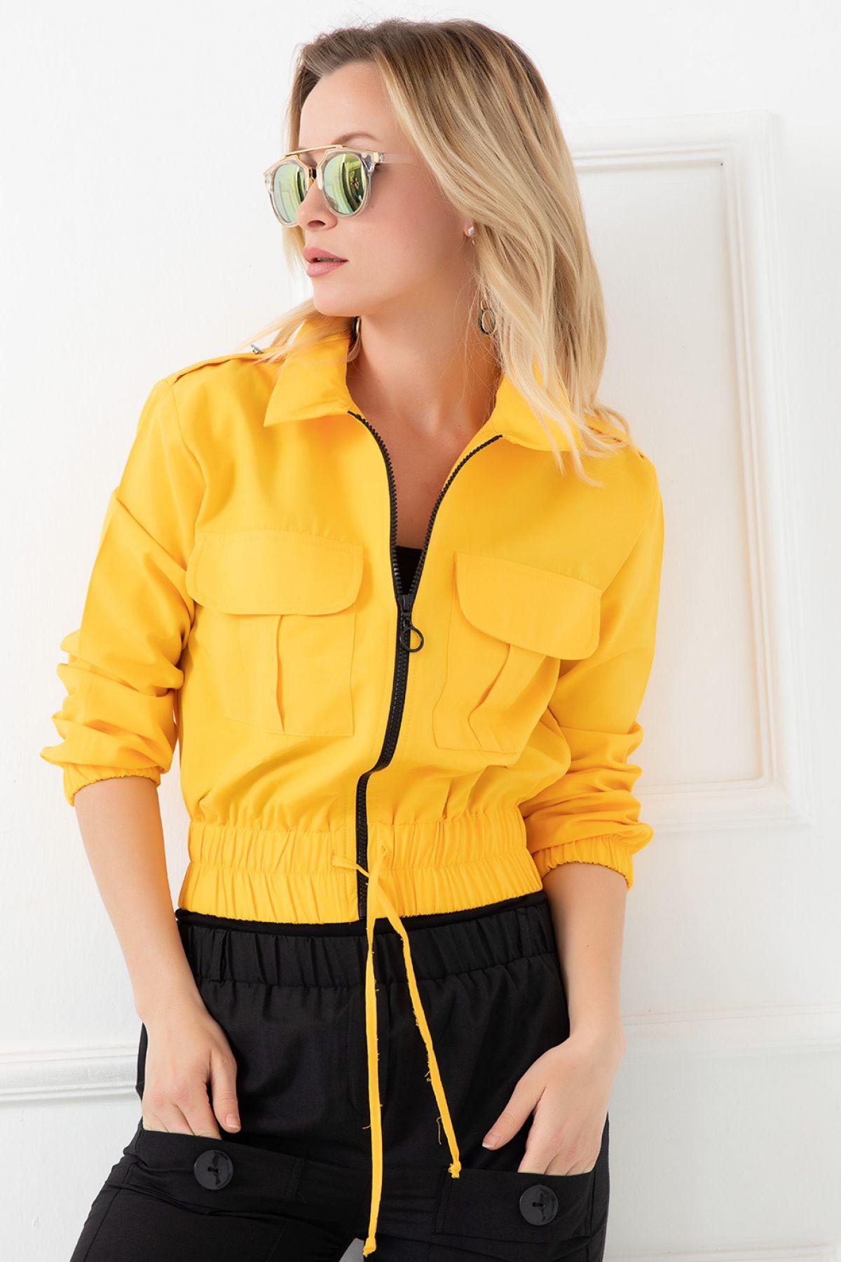 Casual Jacket-Yellow