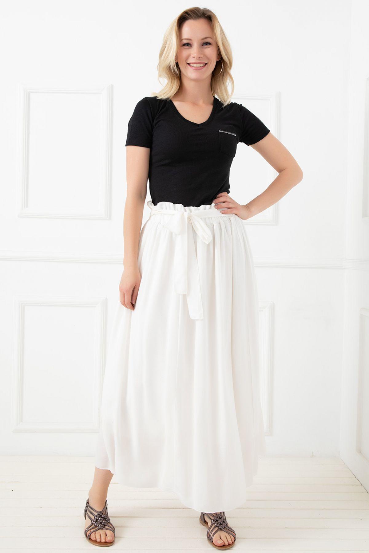 Long Skirts-White