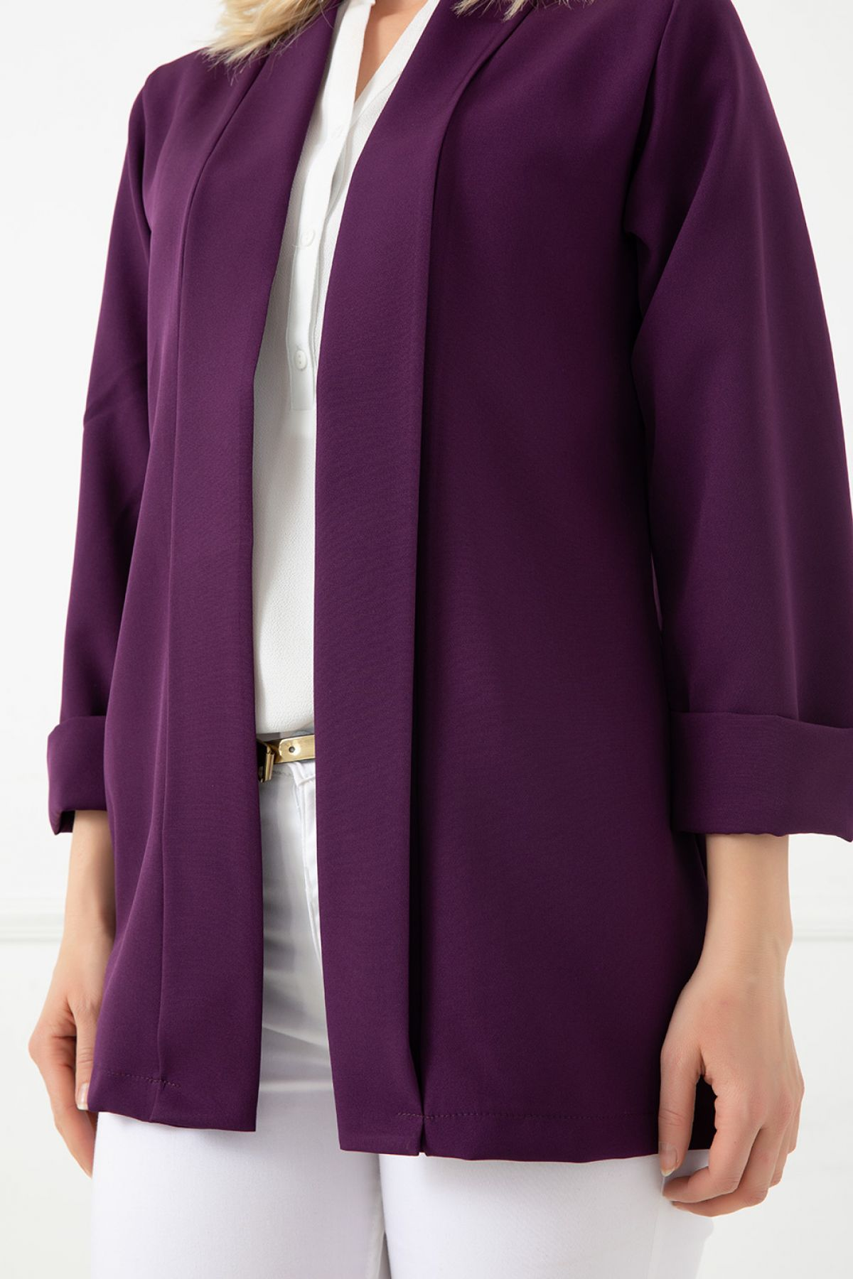 Casual Jacket-Purple