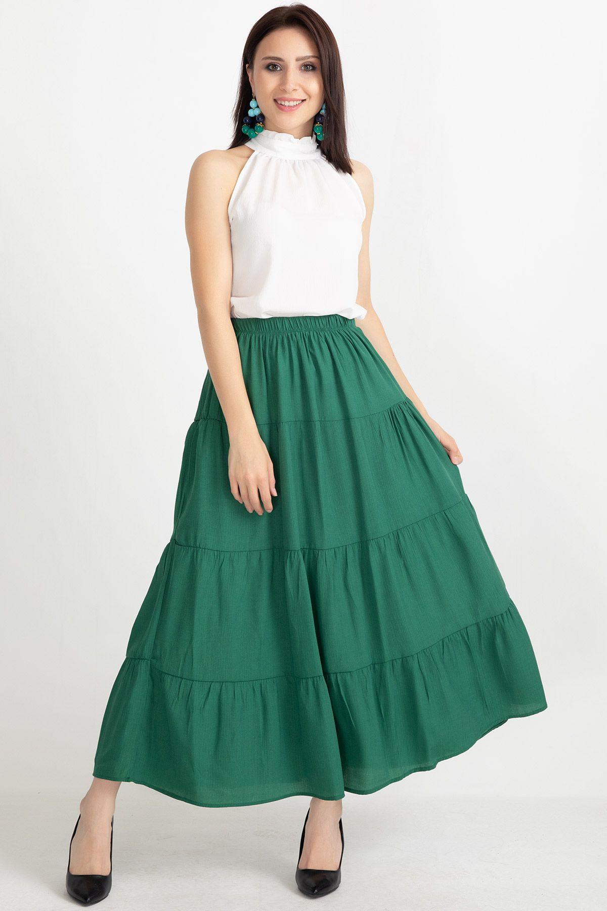 Long Skirts-Green