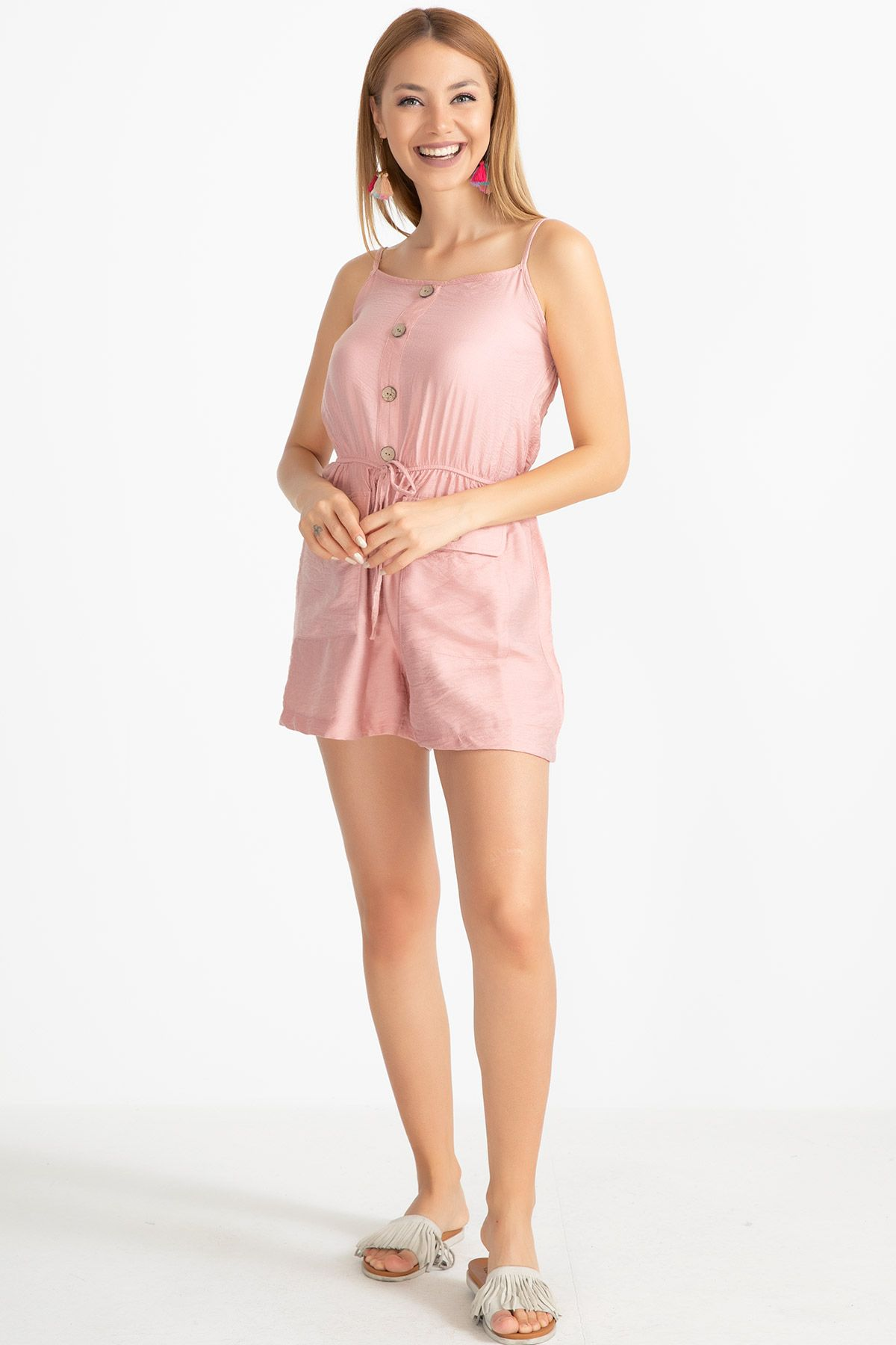 Jumpsuits-Pink
