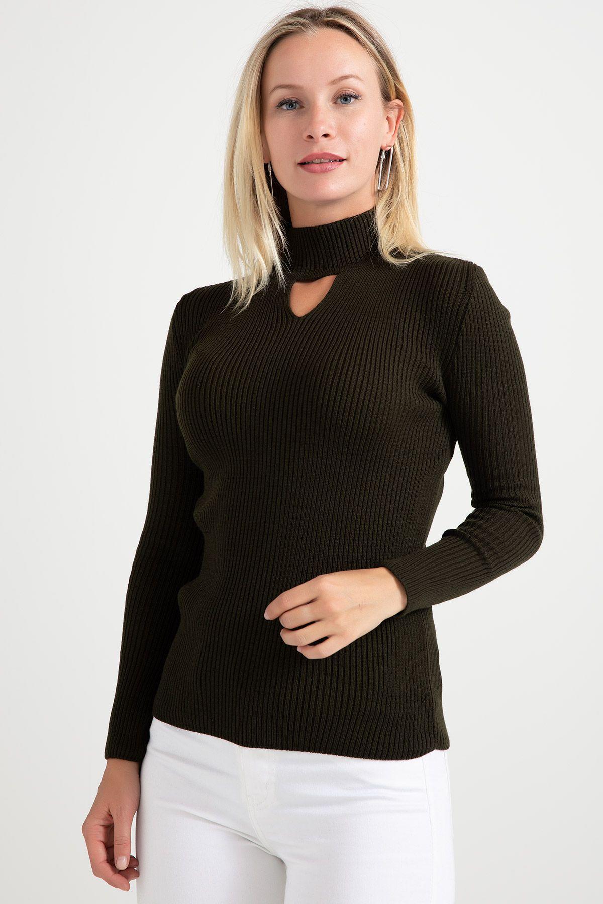 Knitwear-Khaki