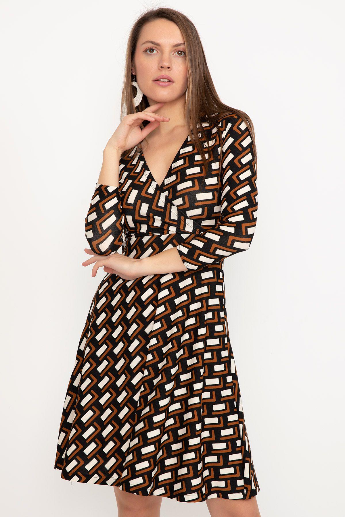 Day Dresses Short-Multi color