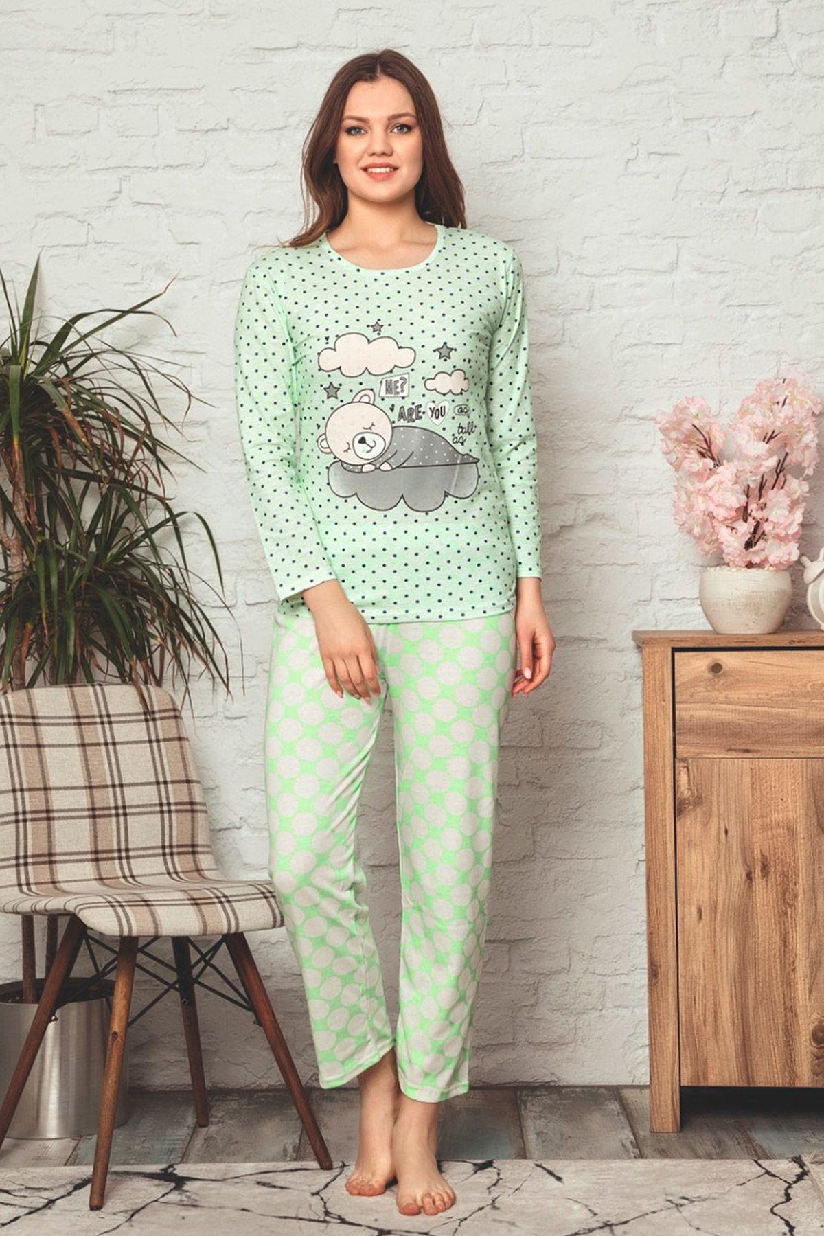 Pajamas-Light green