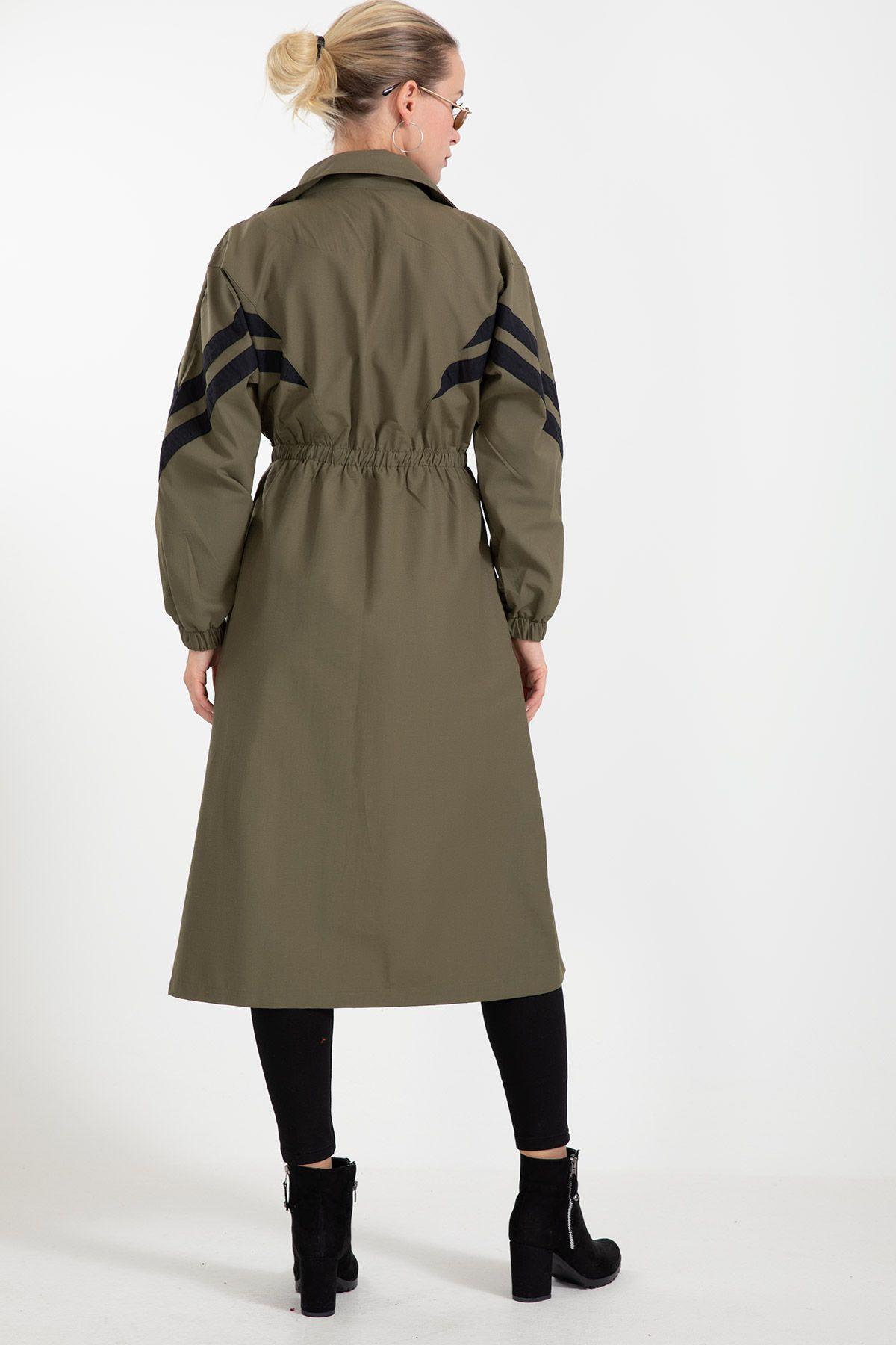 Trench Coats-Khaki