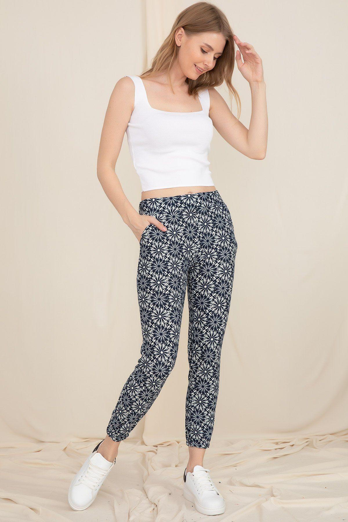Skinny Pants-Black