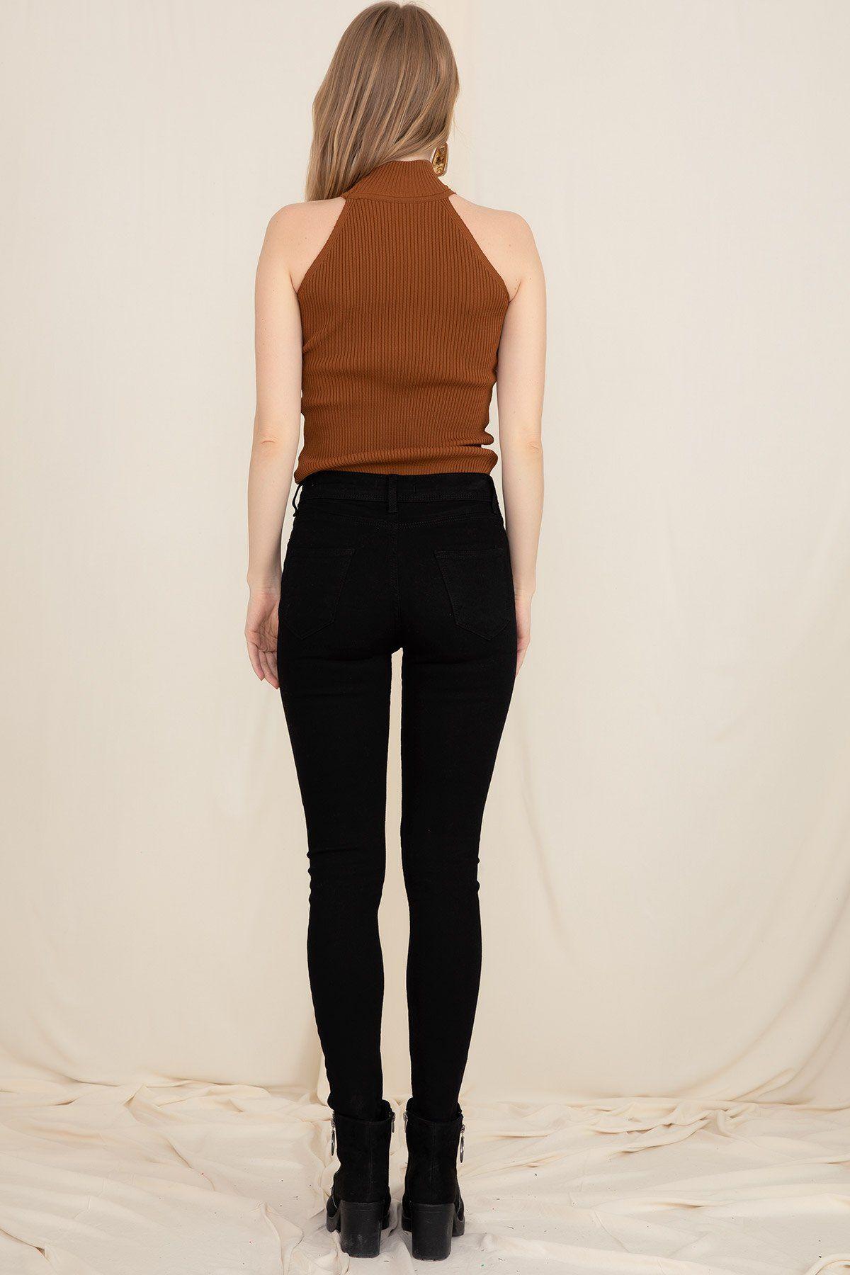 Skinny Pants -Black