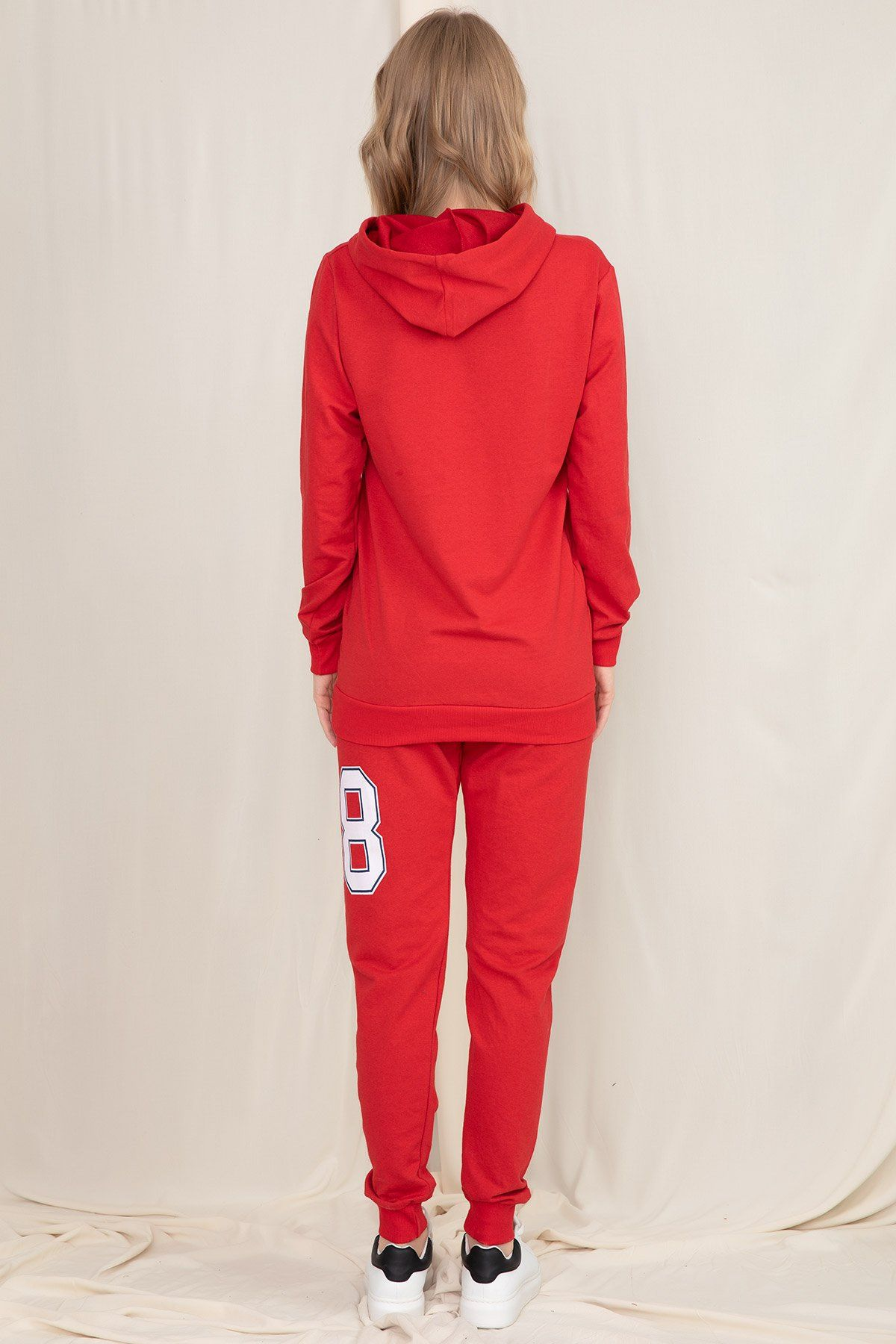 Sweat & Track Suit-Red