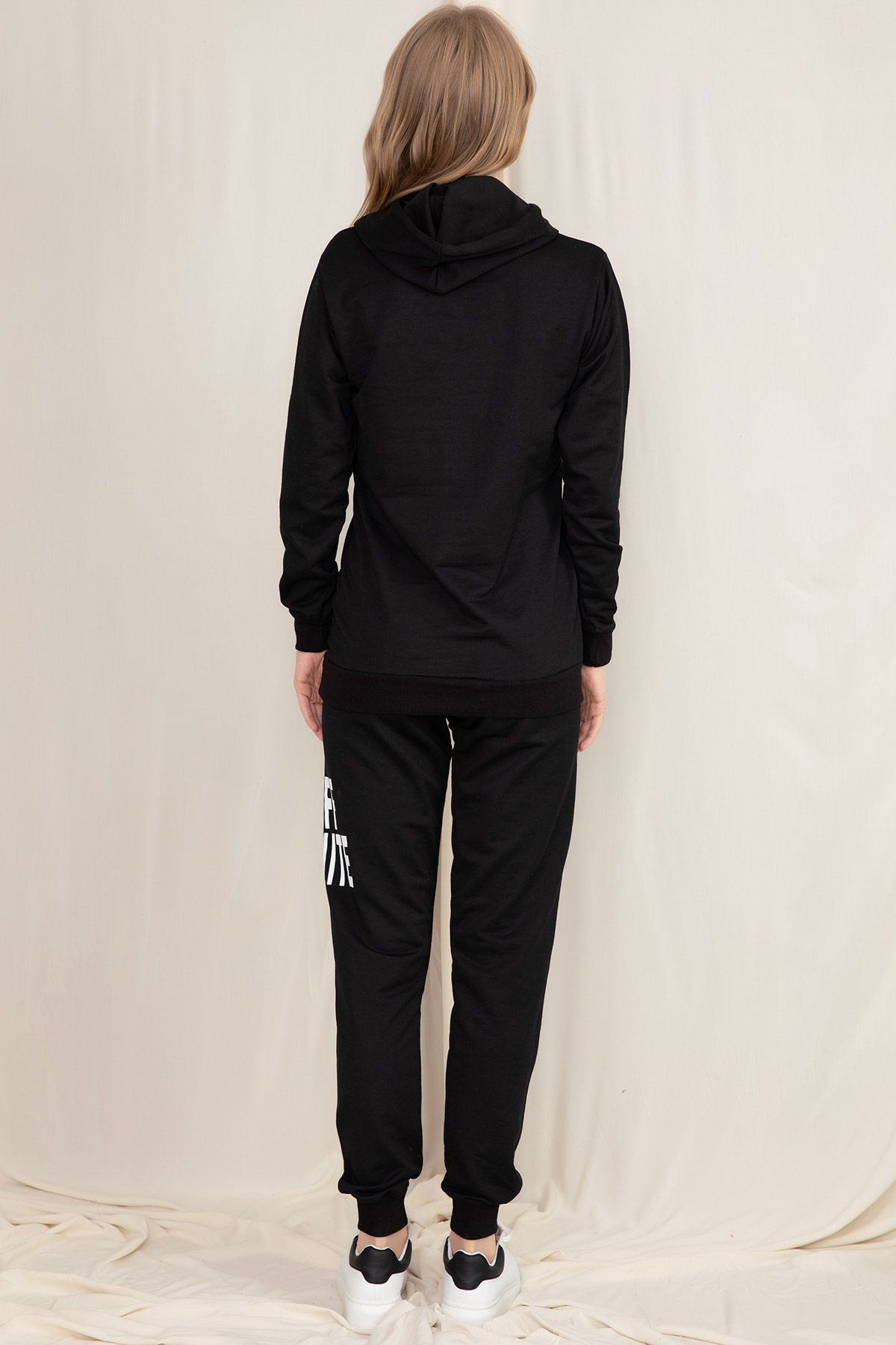 Sweat & Track Suit-Black