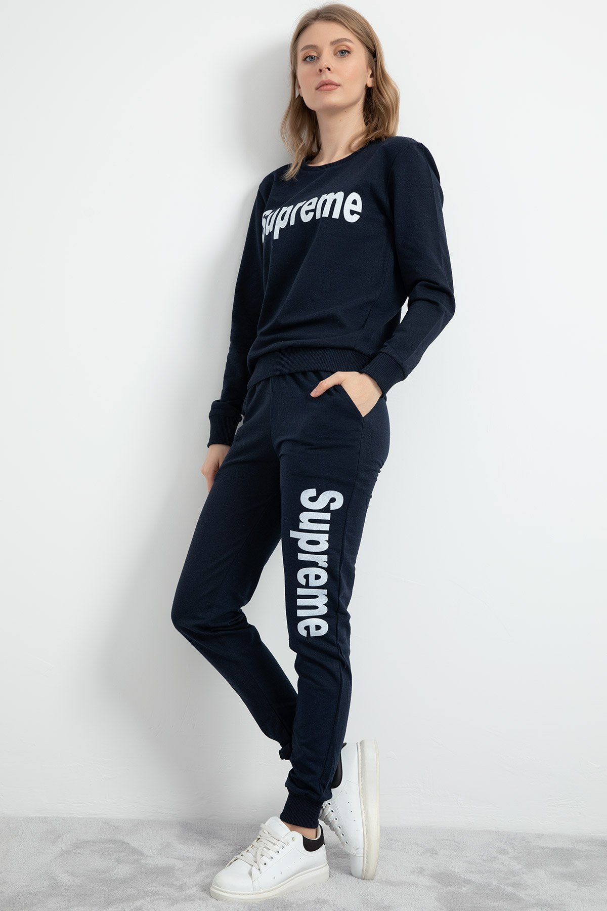 Sweat & Track Suit-Dark Blue