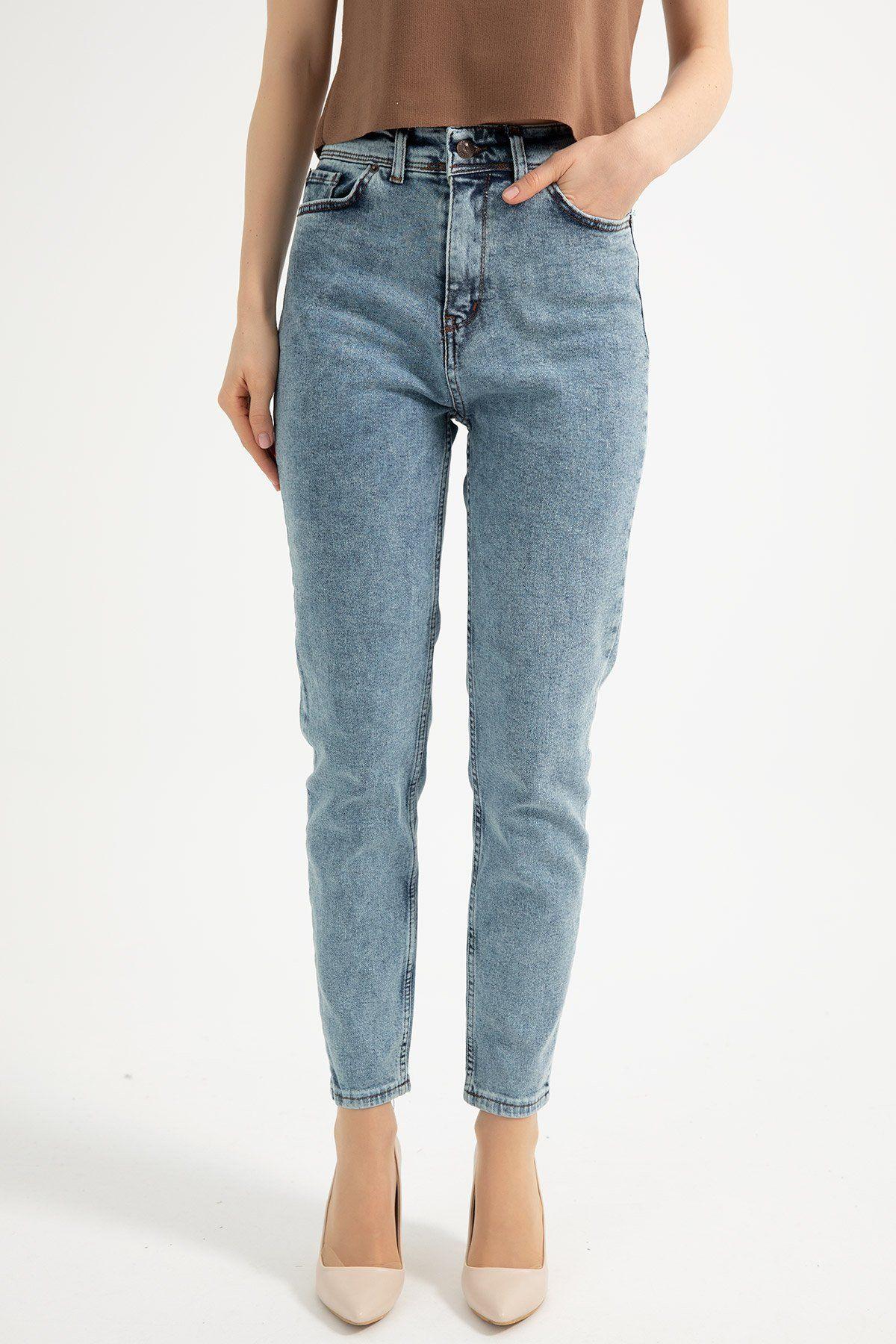 Boot Cut Pants-Sky Blue