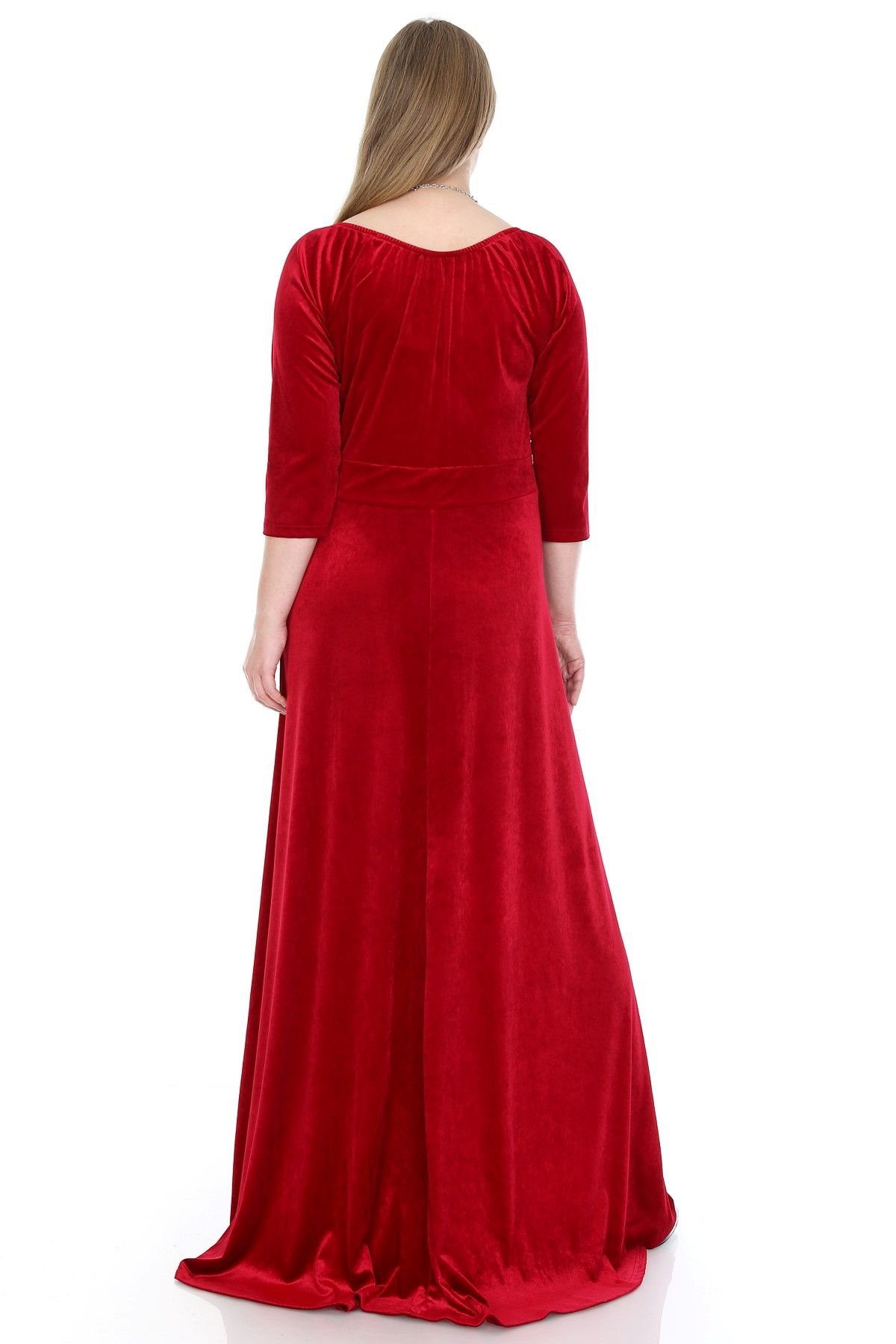 Day Dresses Long-Red