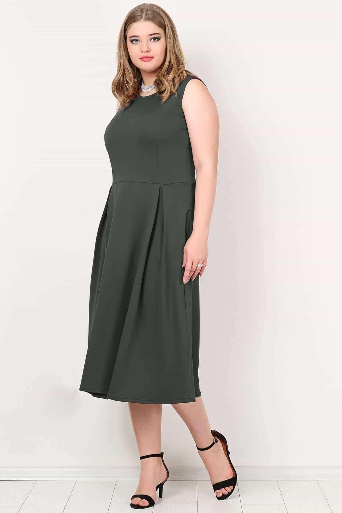 Evening Dress-Anthracite