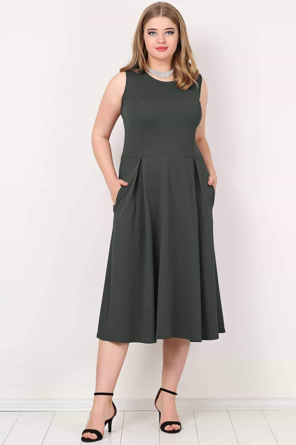 Evening Dress-Anthracite