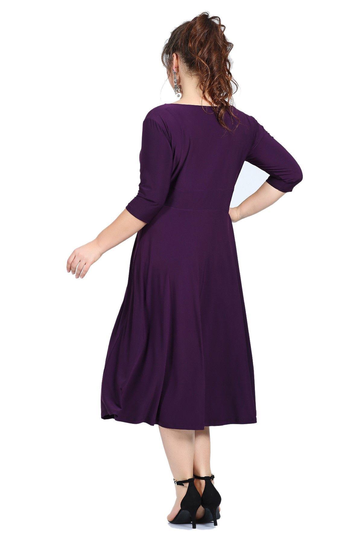 Evening Dress-Violet