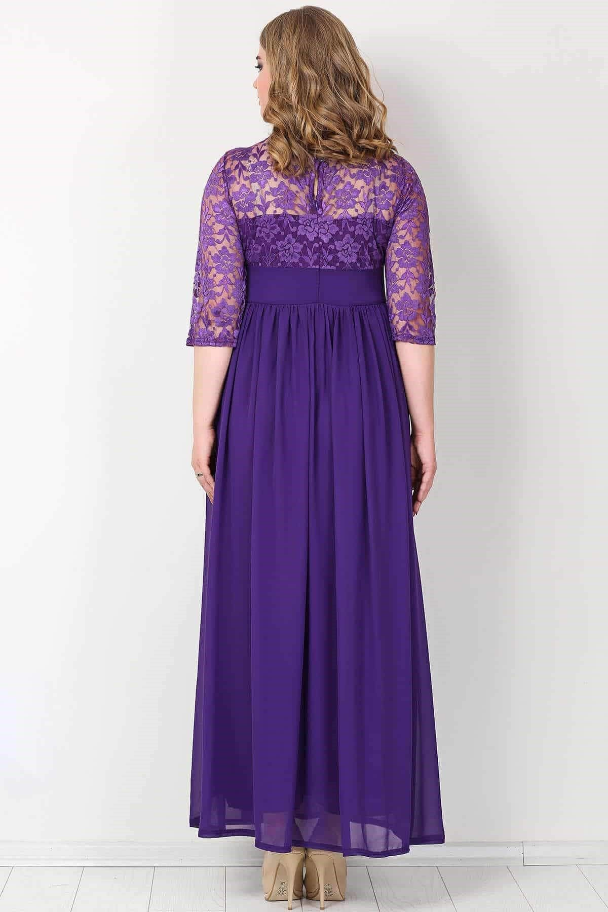 Evening Dress-Lilac