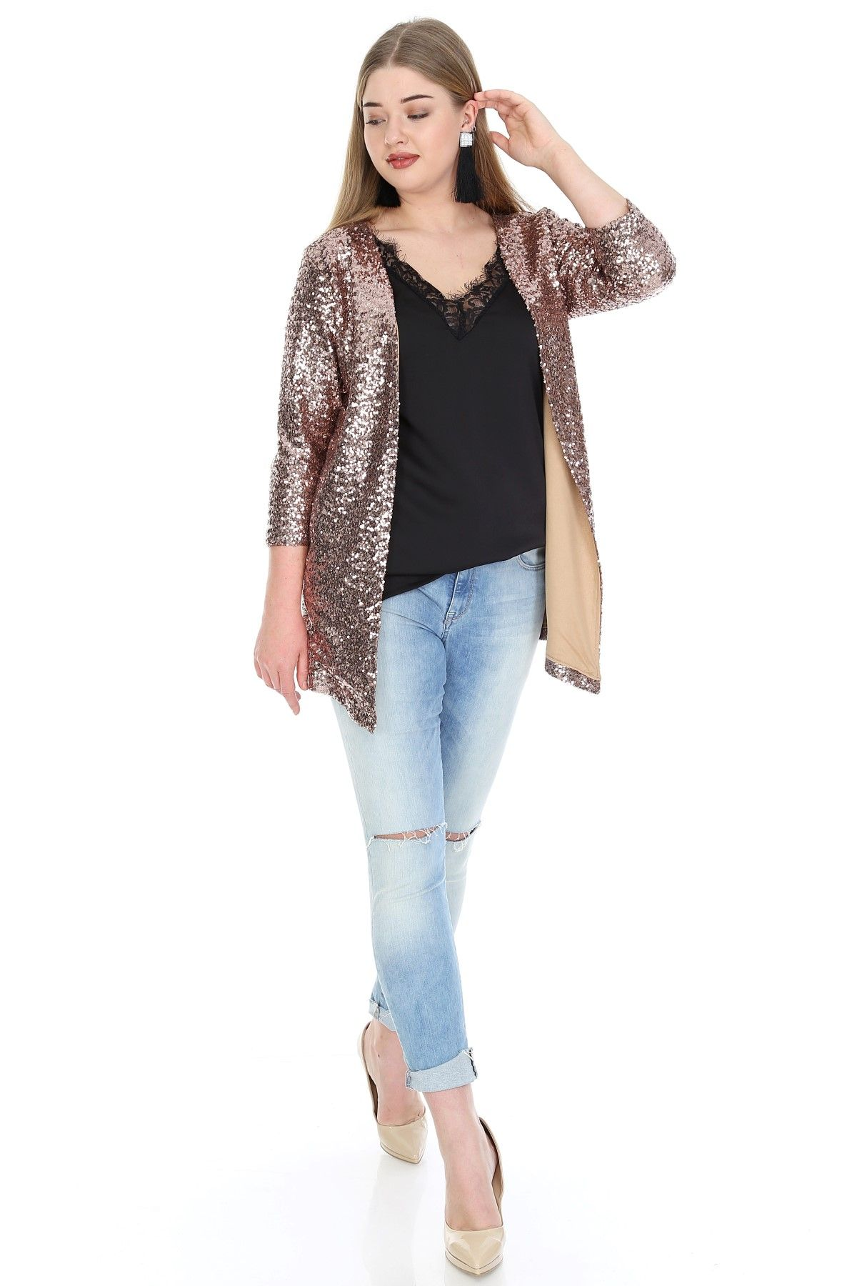 Casual Jacket-Gold