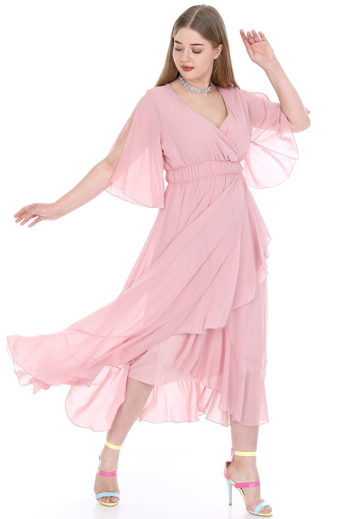 Evening Dress-powder