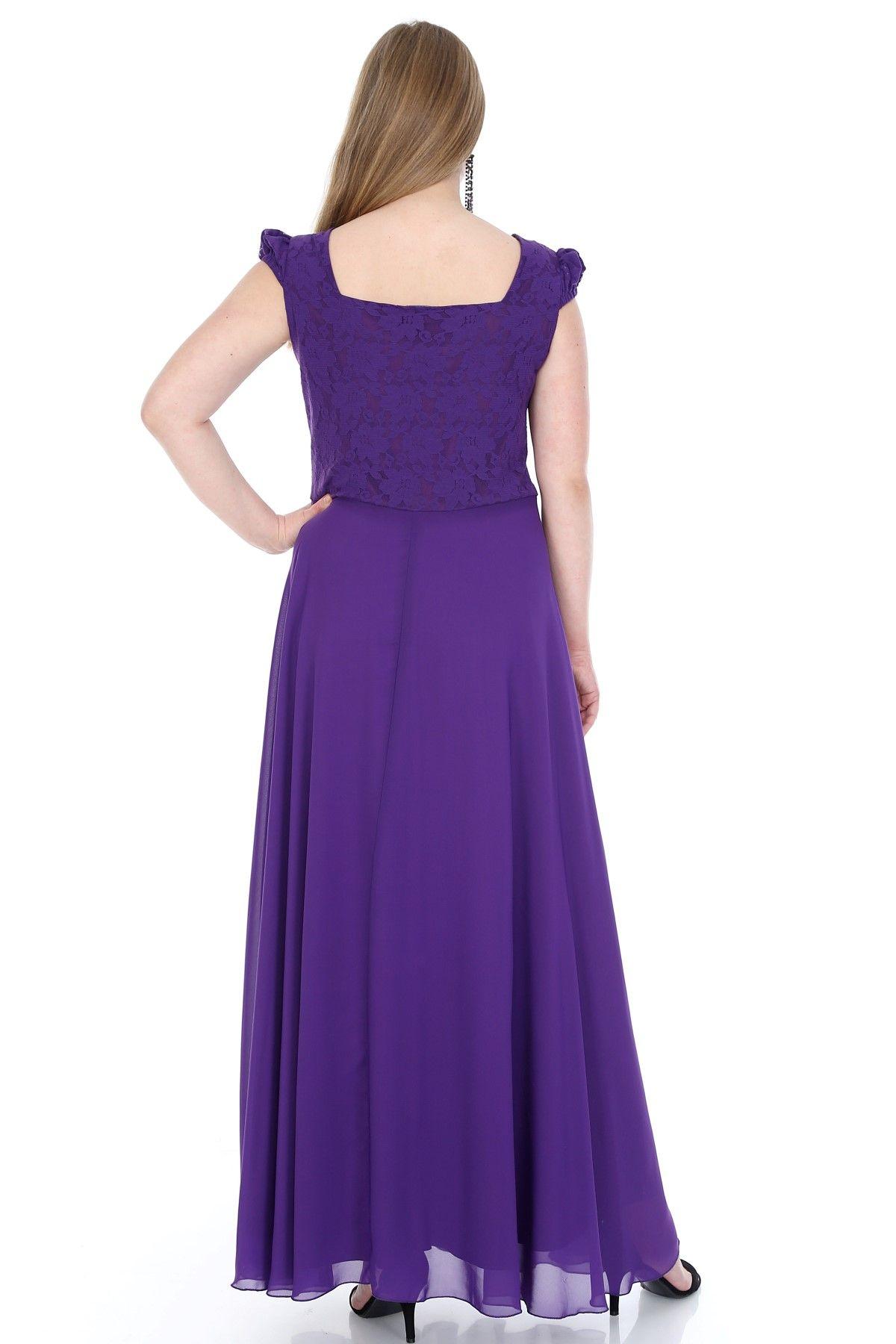 Evening Dress-Bright Blue