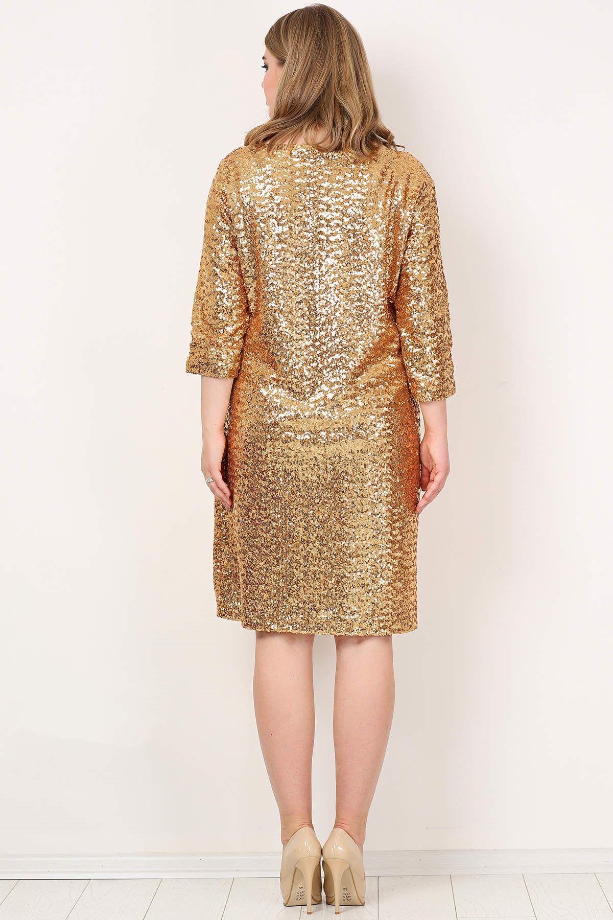 Evening Dress-Gold