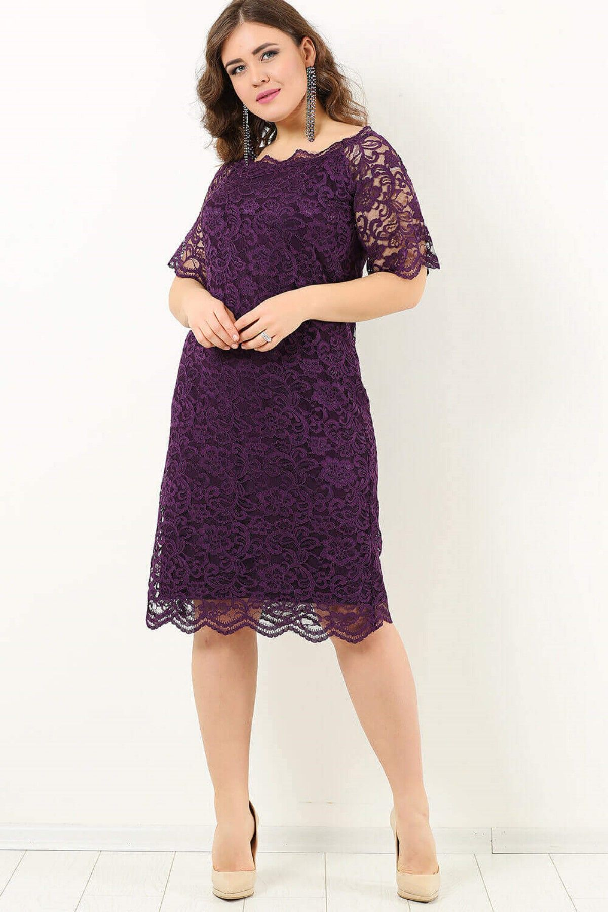 Evening Dress-Light Purple