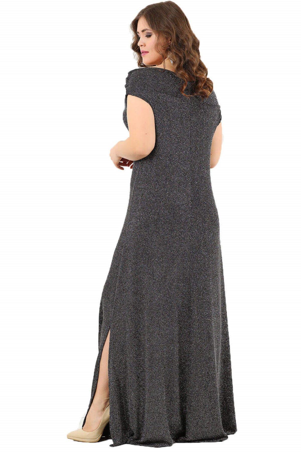 Evening Dress-Light Grey