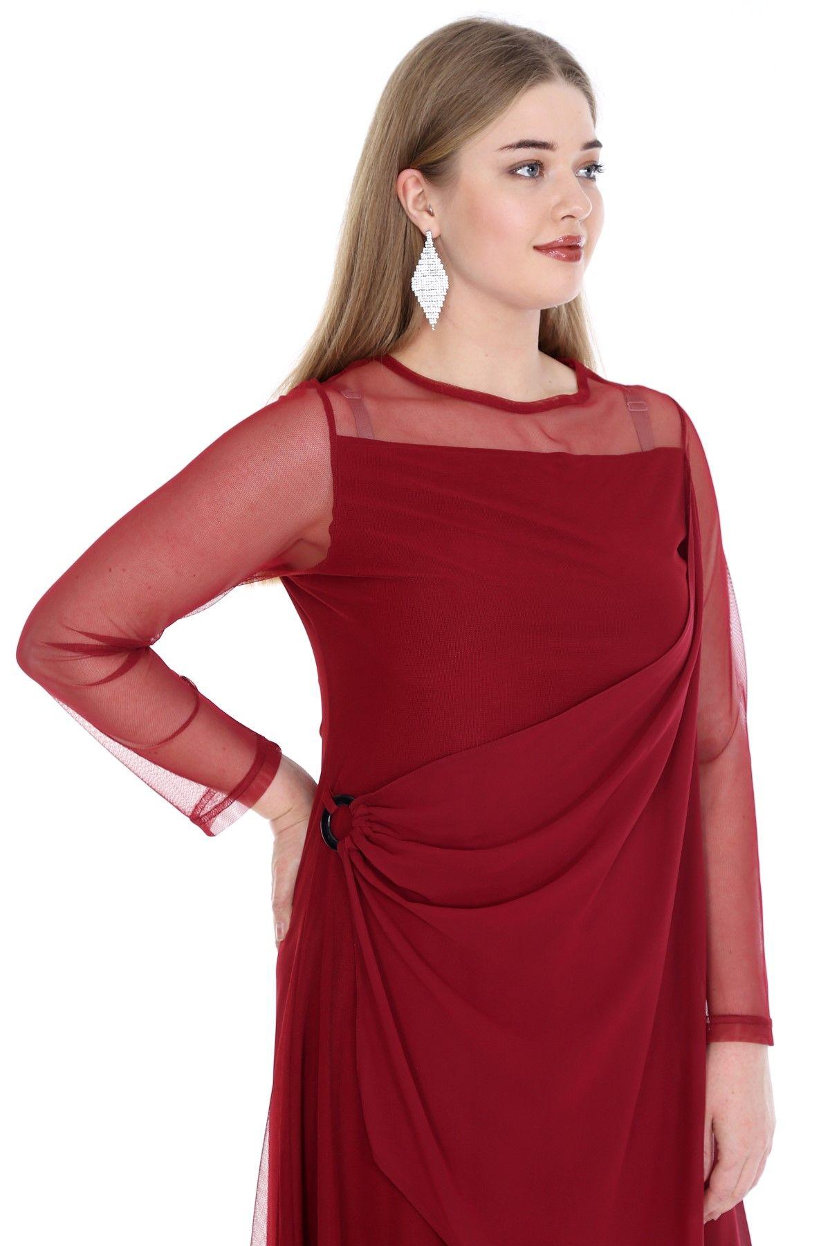 Tunics-Claret Red