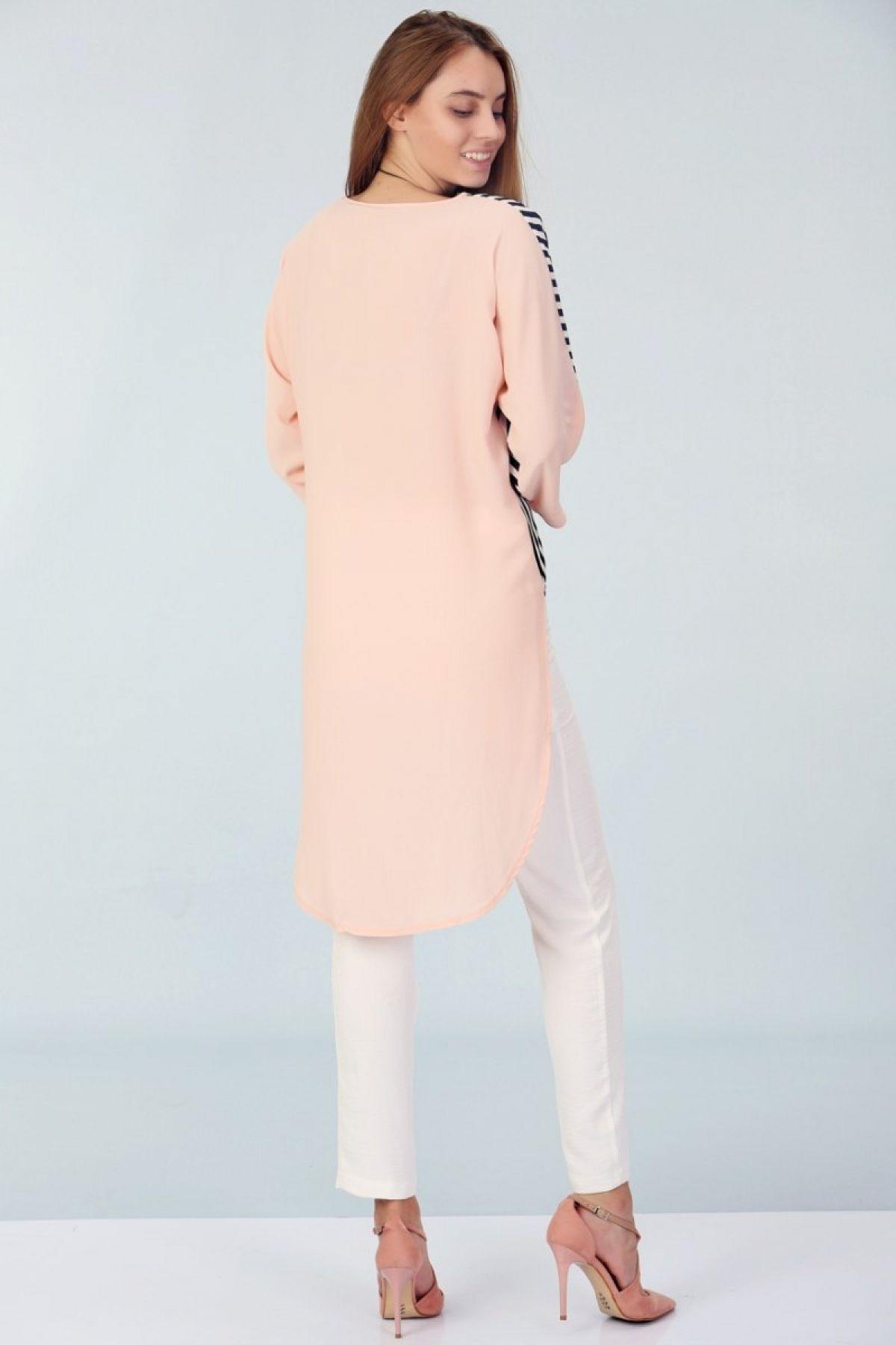 Tunics-Salmon Pink