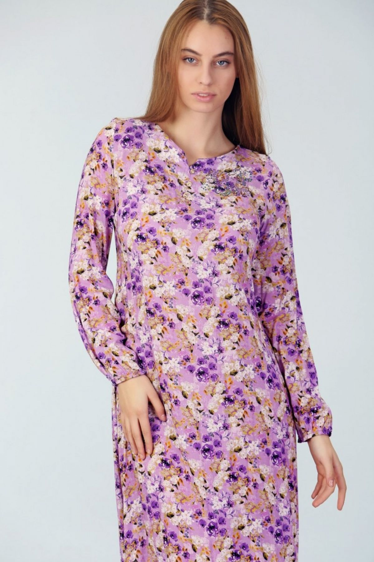 Day Dresses Long-Lilac