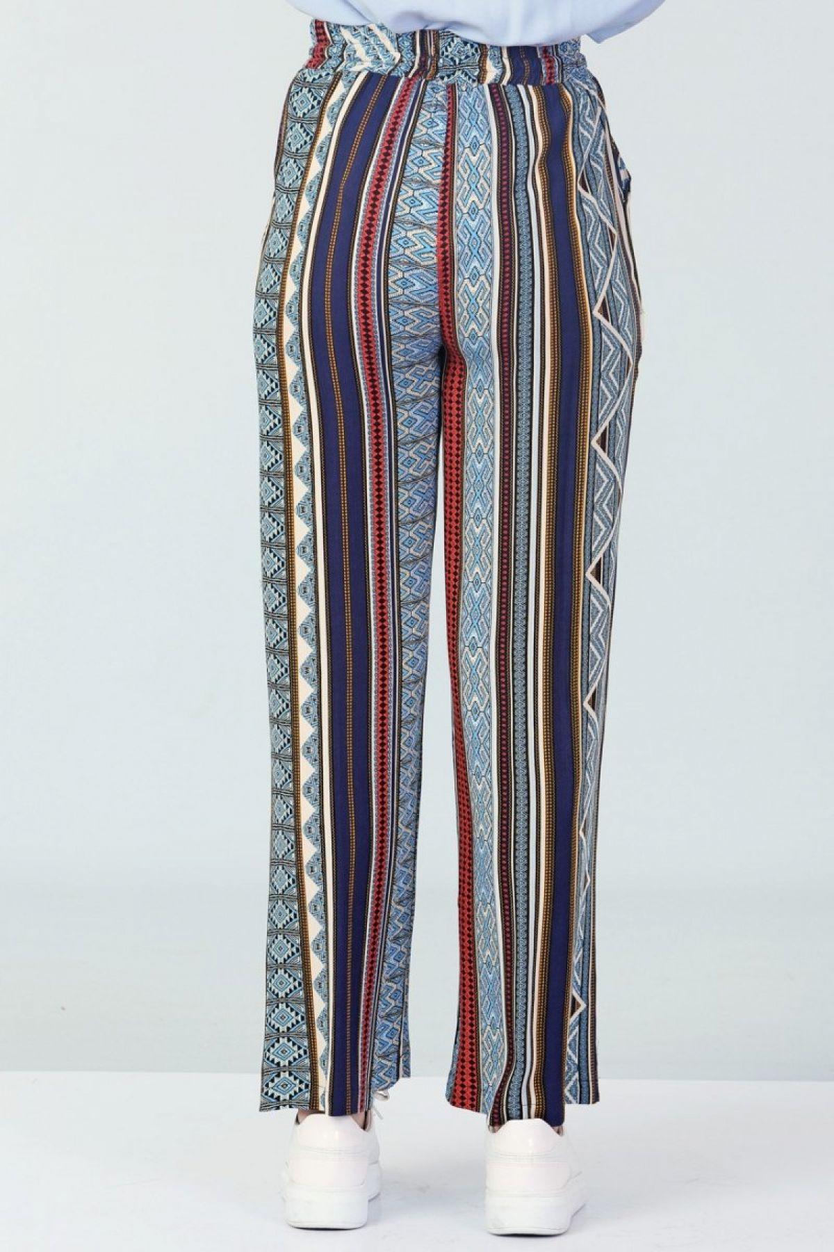 Boot Cut Pants-Multi color