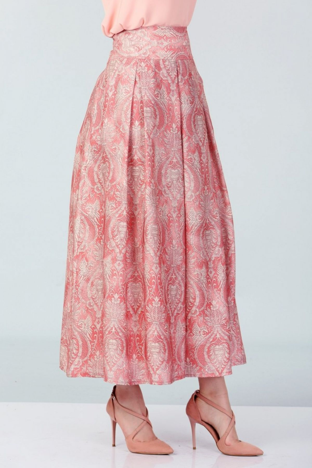 Long Skirts-Coral