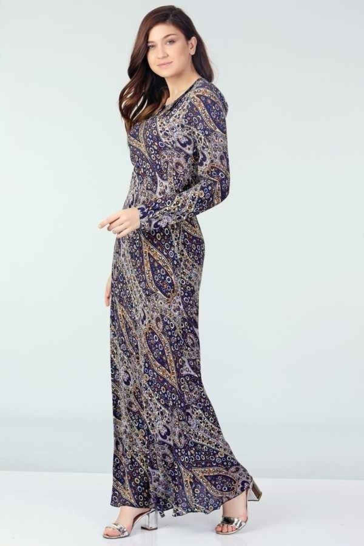 Evening Dress-Dark Blue