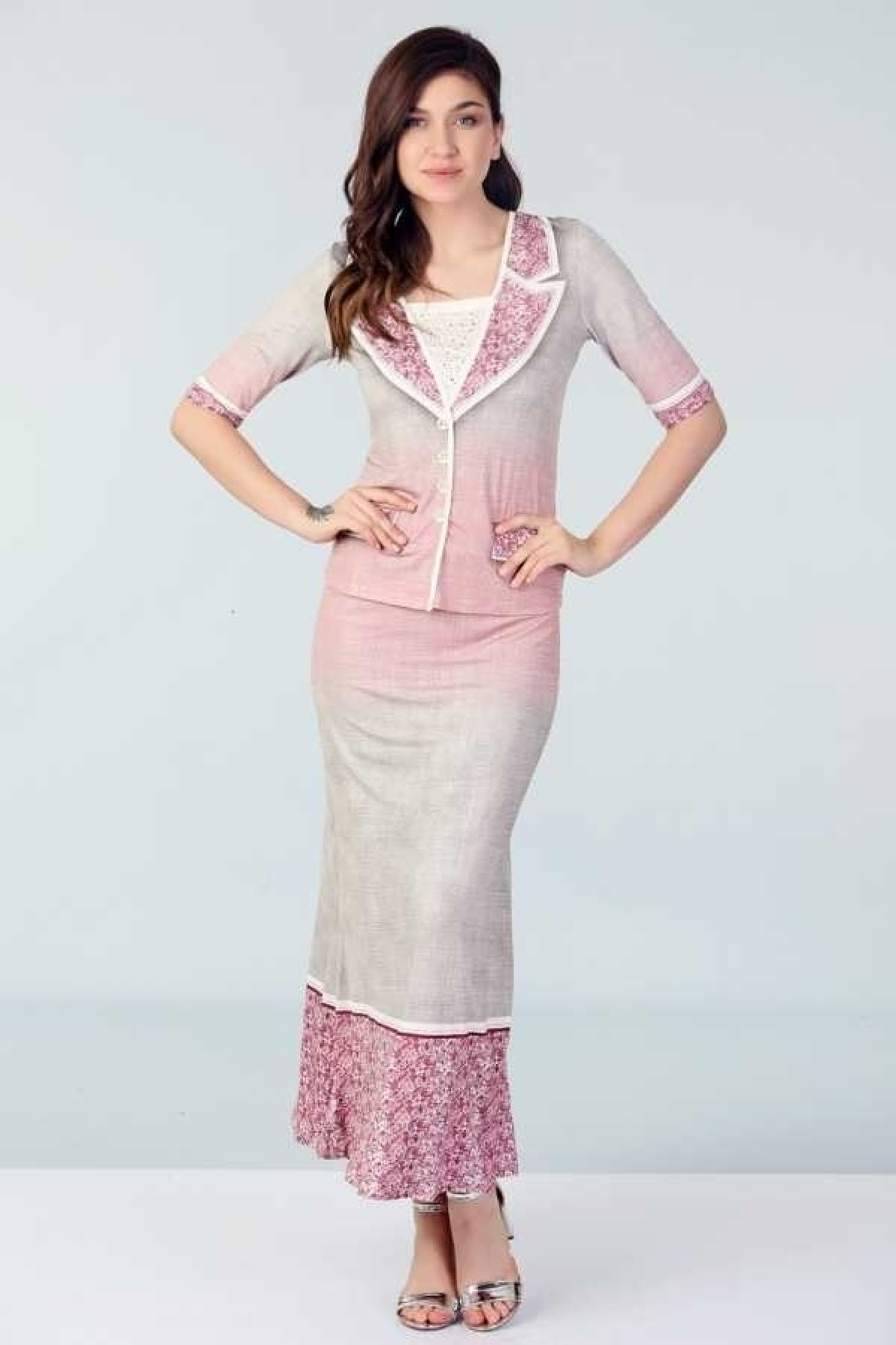 Two-Piece Suit-Pink