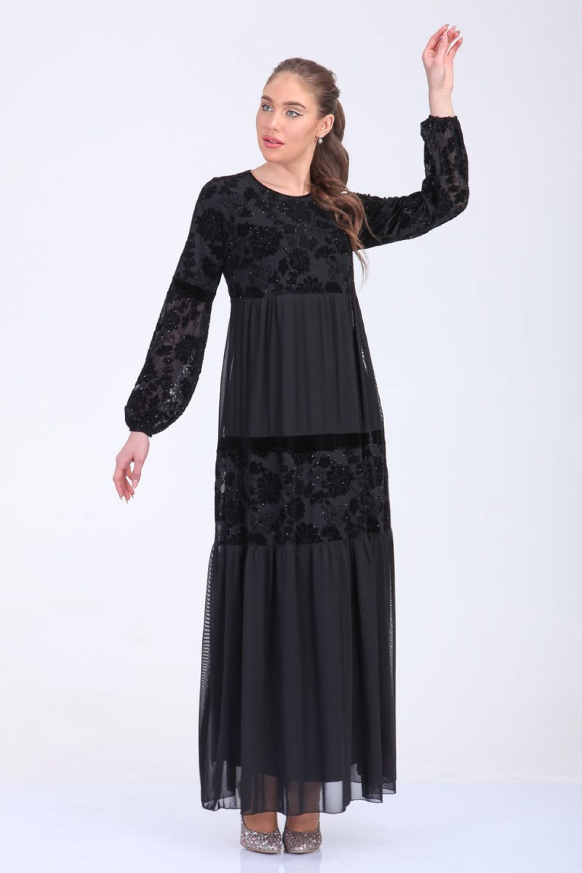Day Dresses Long-Black