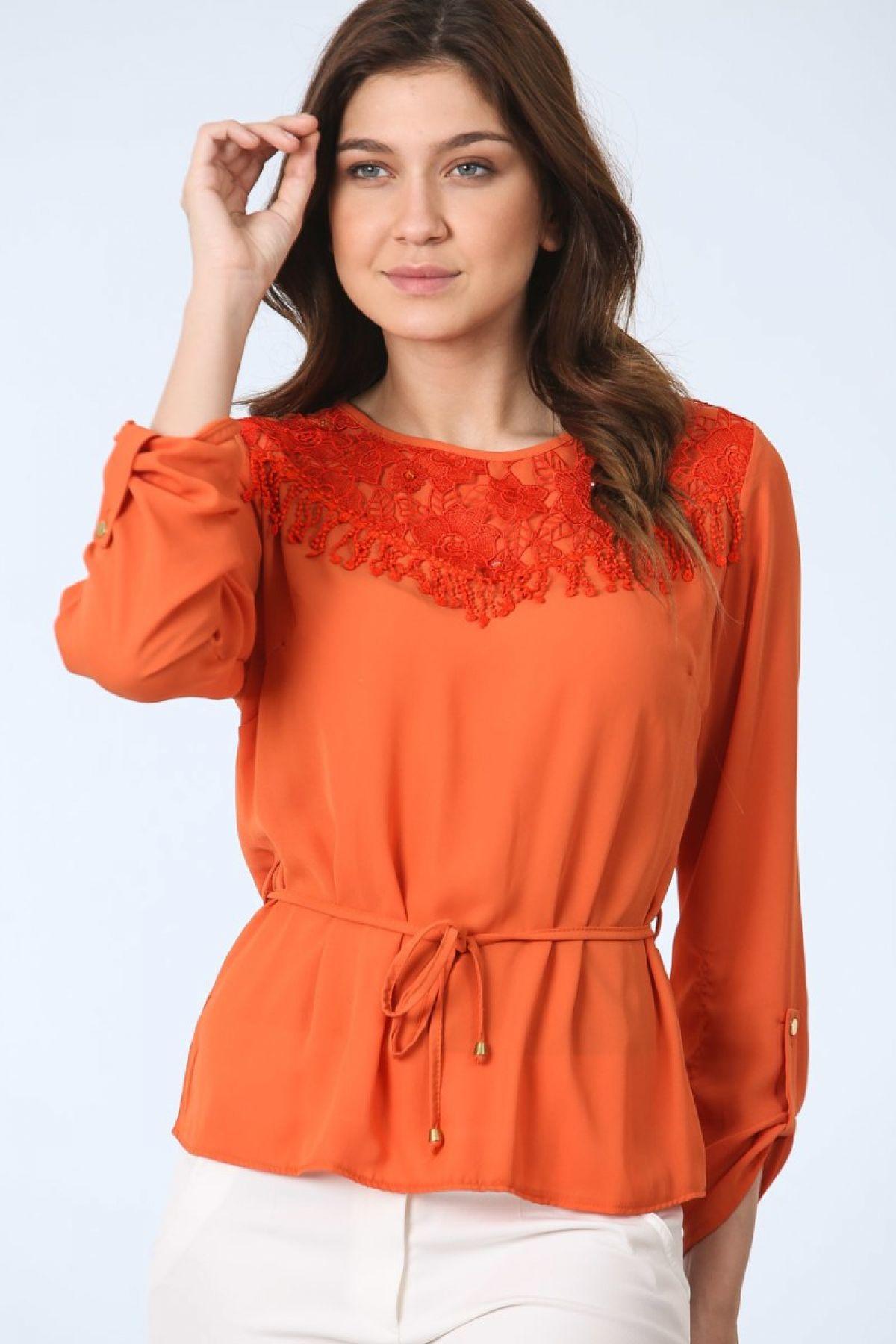 Blouses-Orange