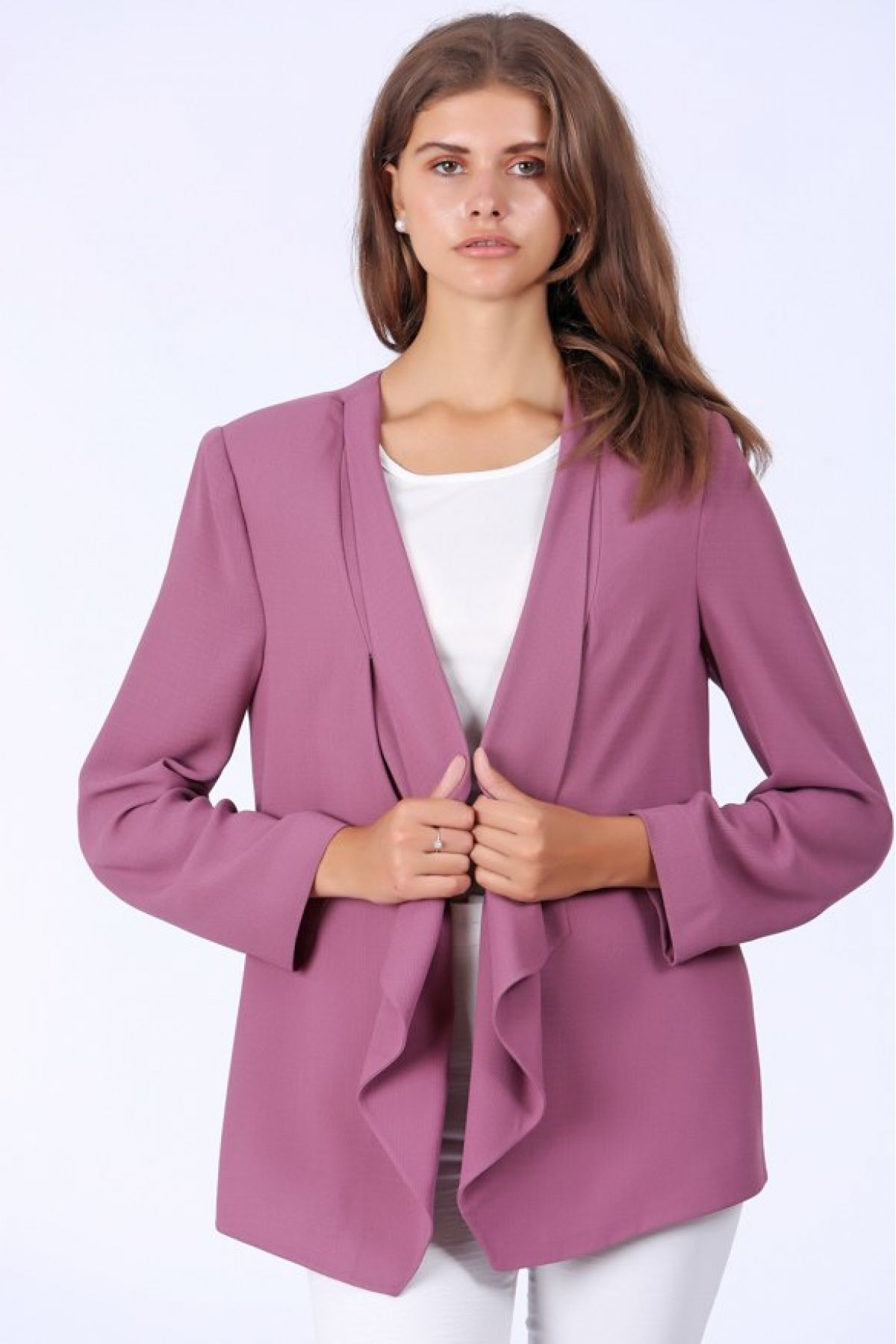 Casual Jacket-Pink
