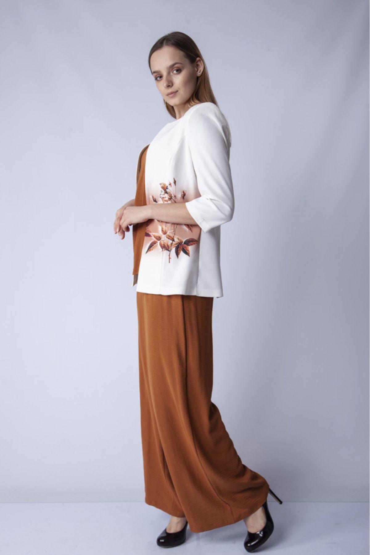 Two-Piece Suit-Terracotta