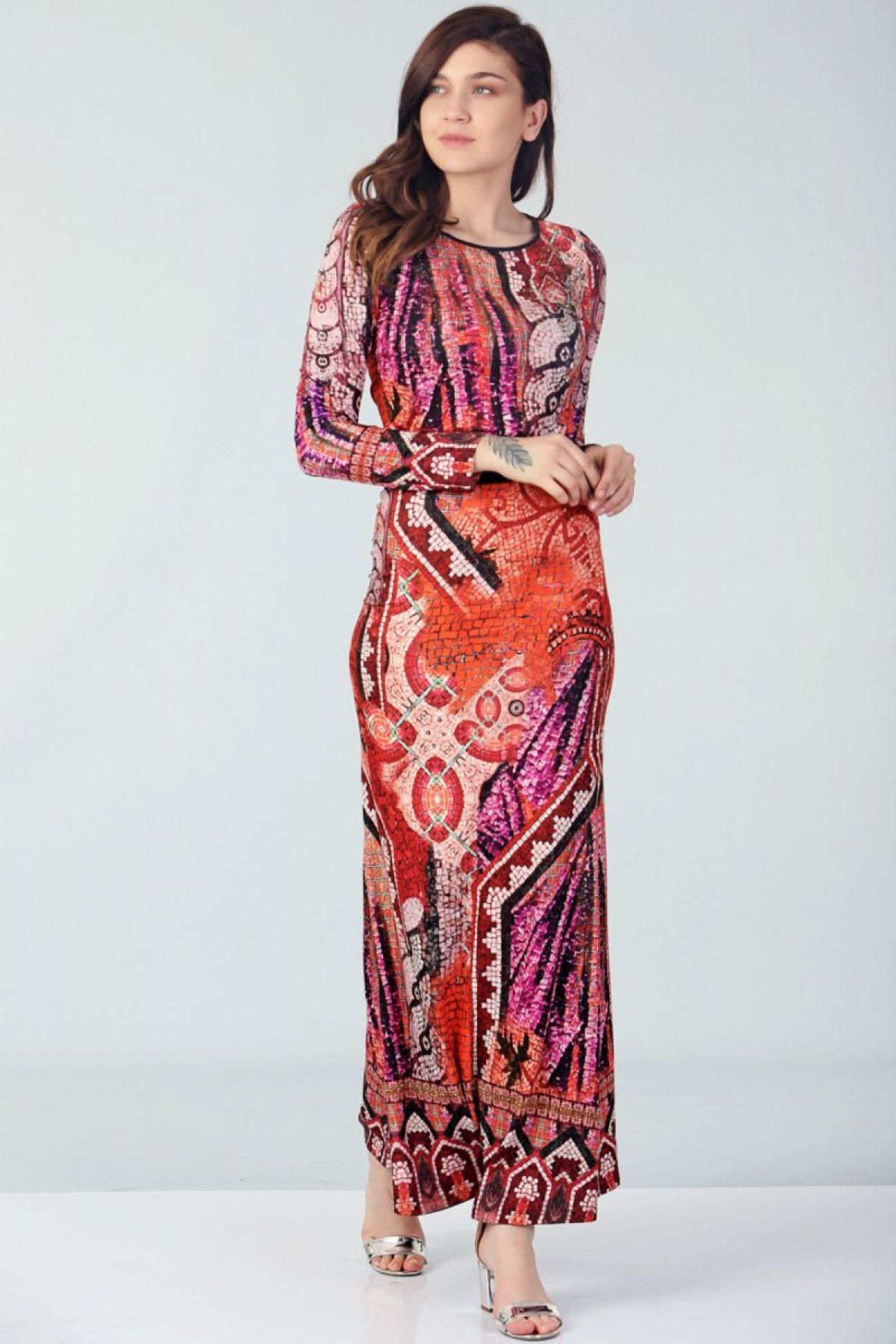 Dresses-Multi color