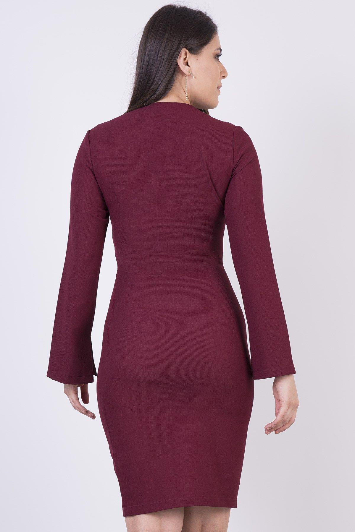 Casual Dresses-Blackberry