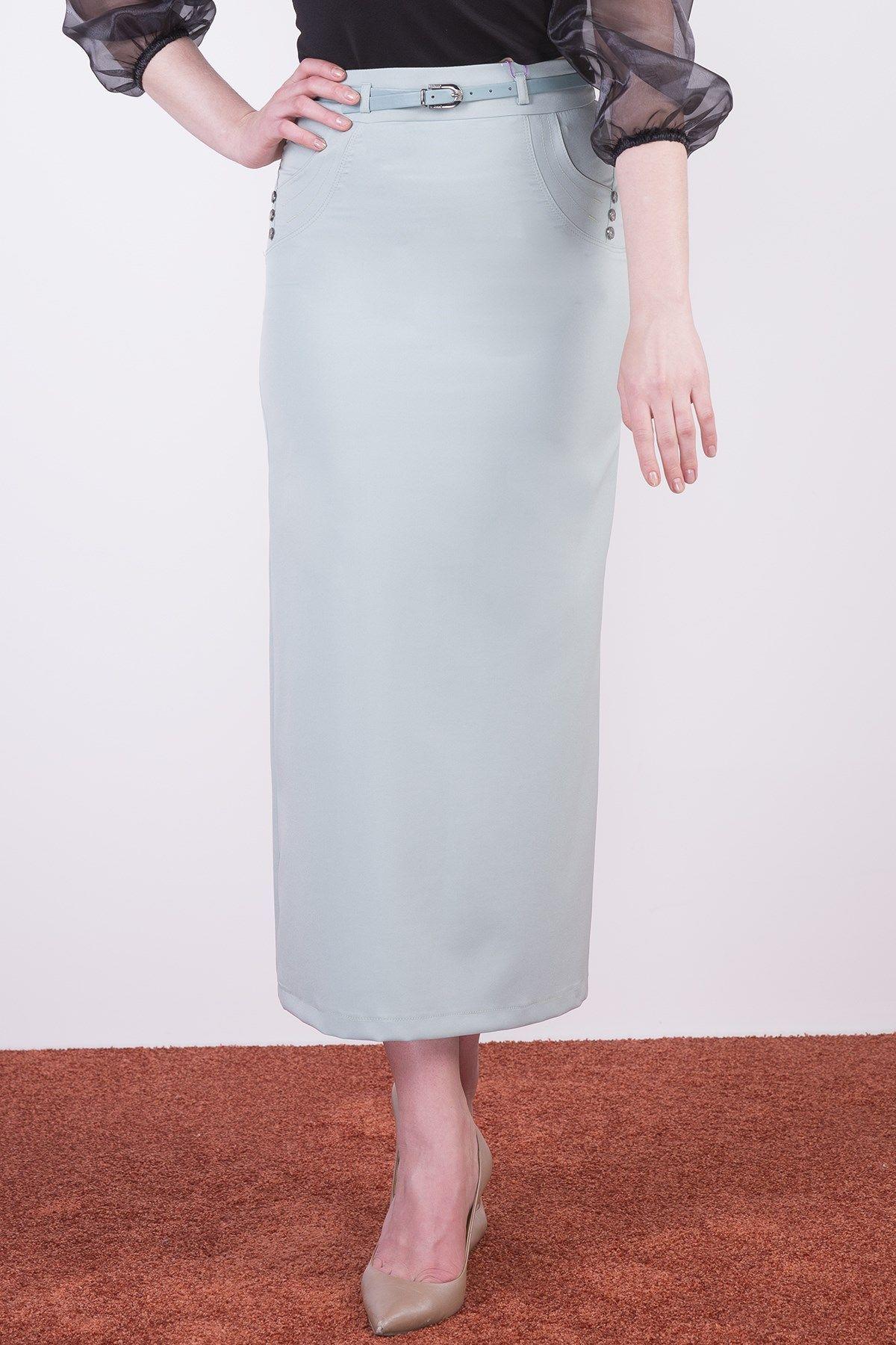 Long Skirts-Sky Blue