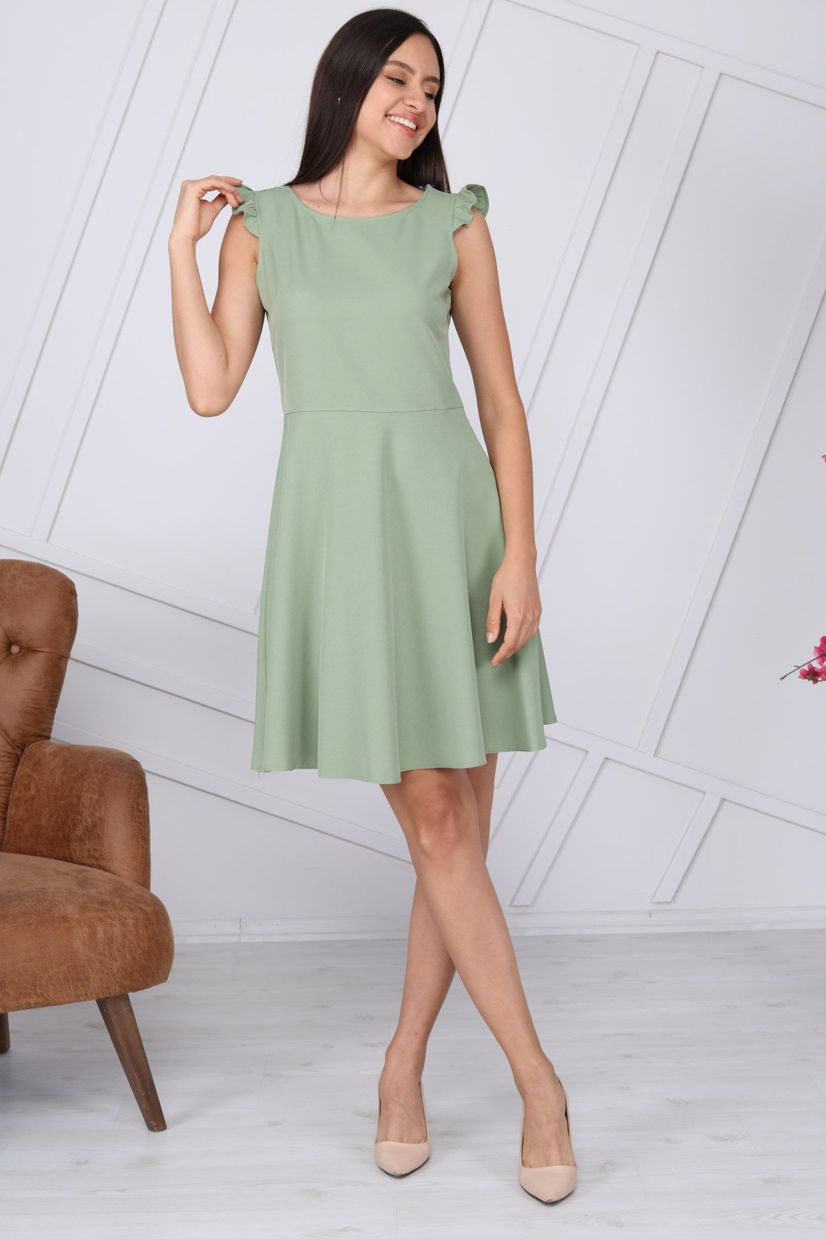 Day Dresses Medium-MINT