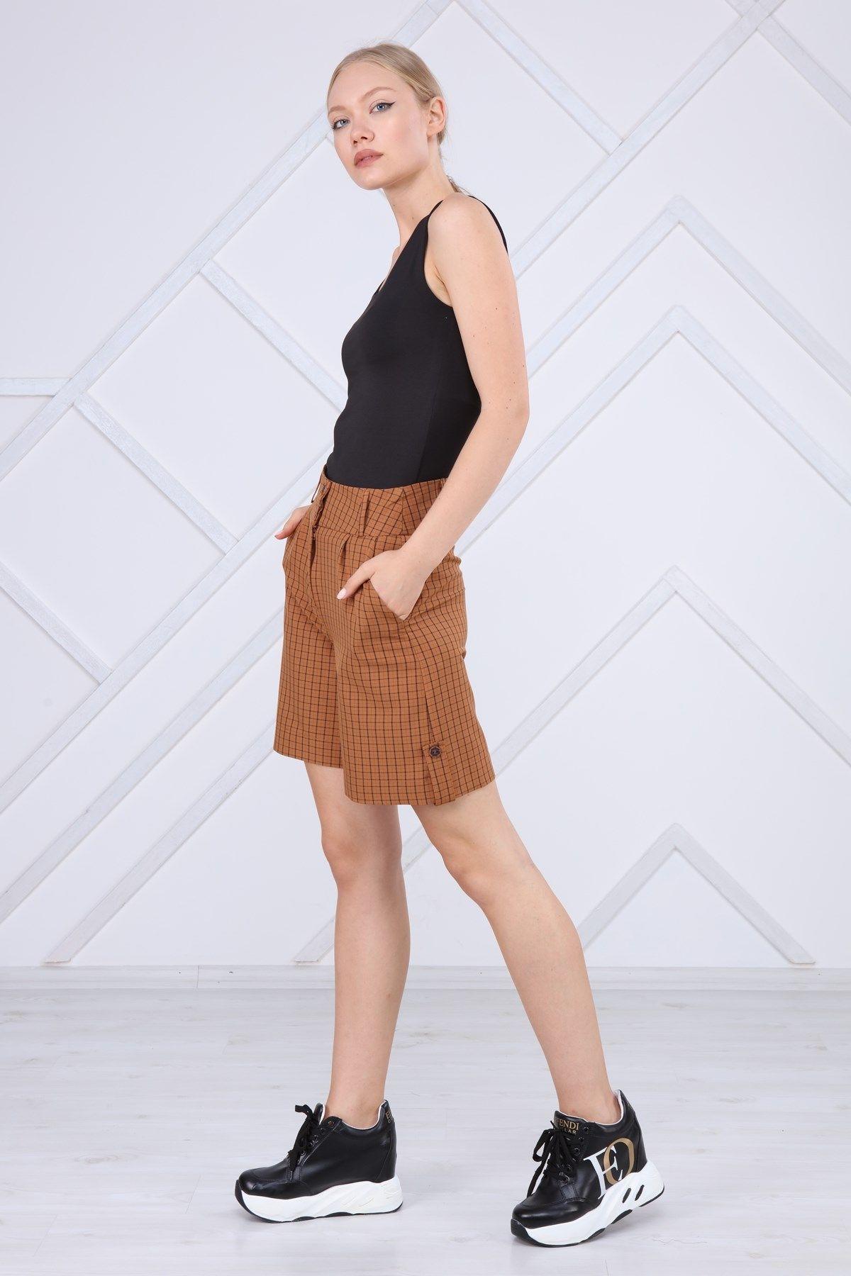 Shorts-Brown