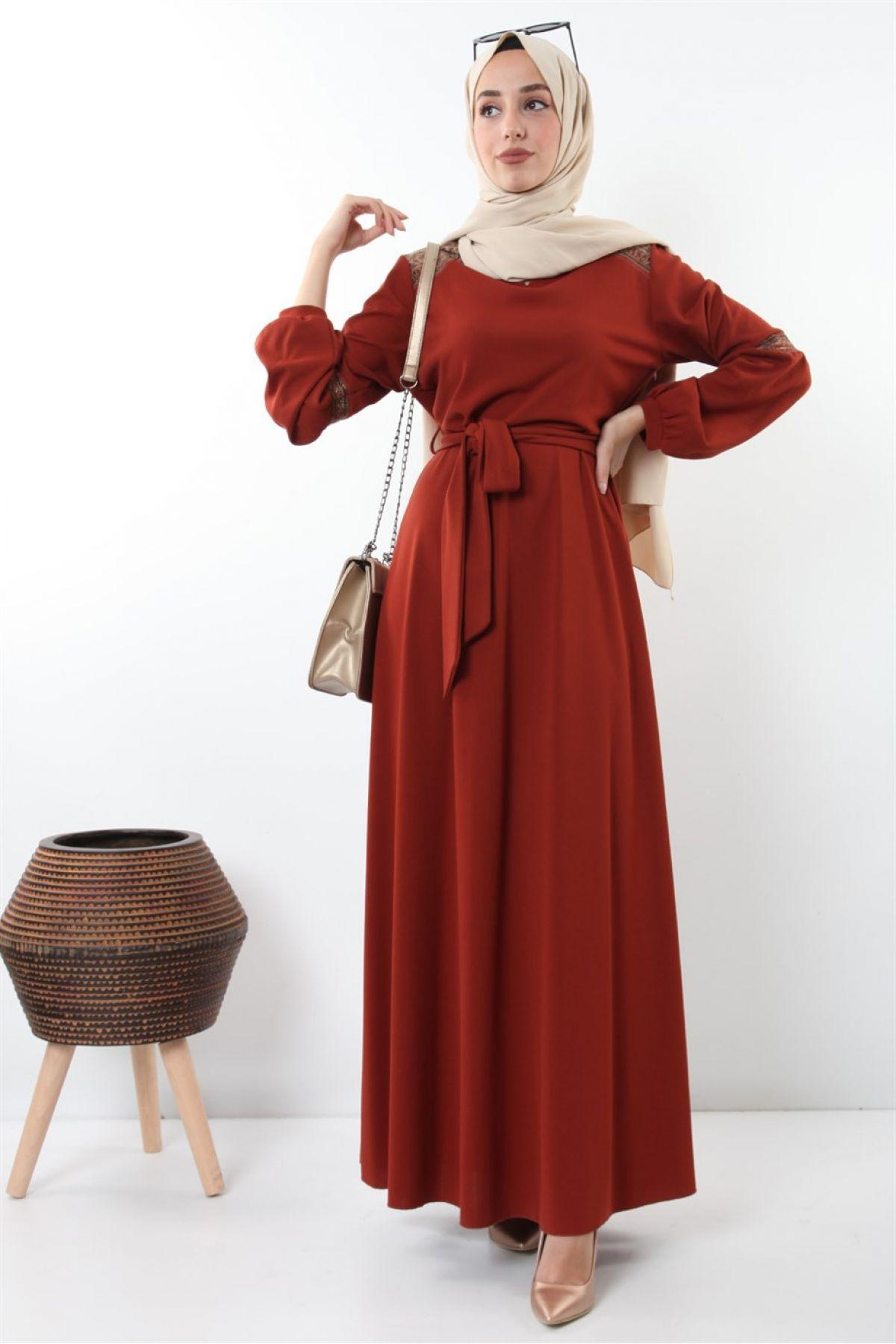 Evening Dress-Orange